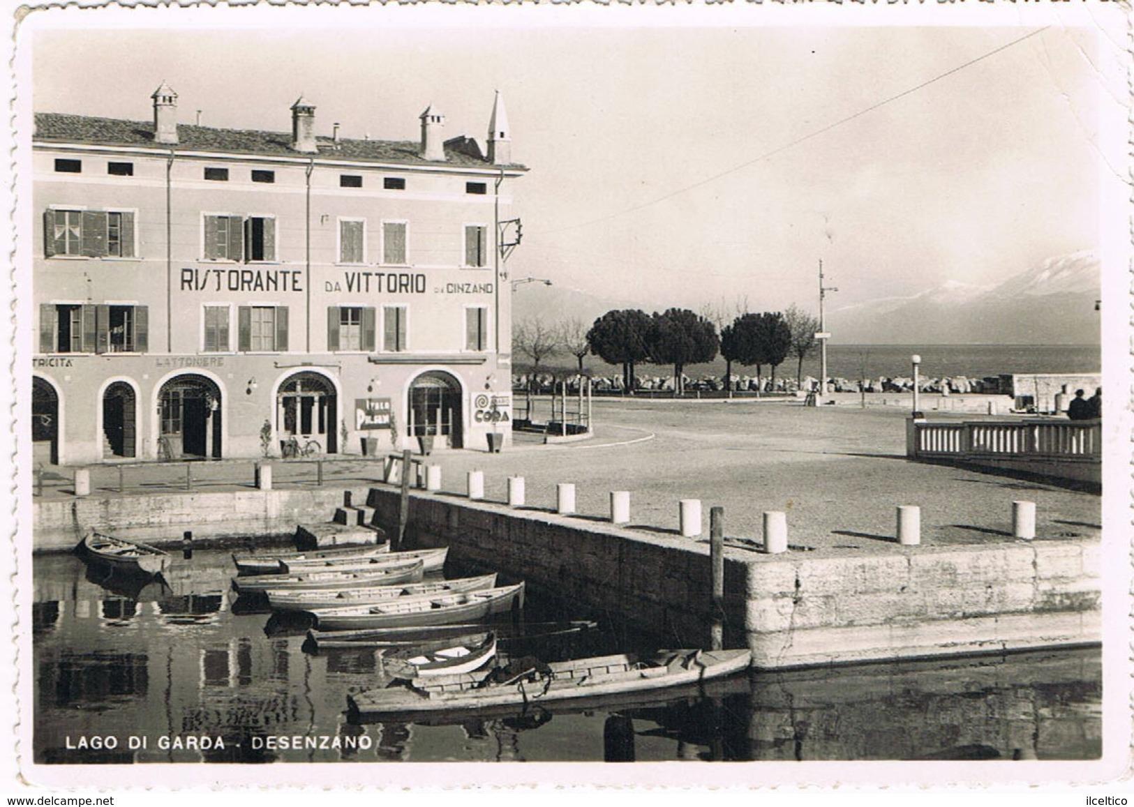 DESENZANO (BRESCIA)  RISTORANTE DA VITTORIO  -  1951 - Brescia