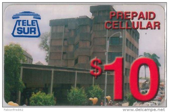 PREPAID PHONE CARD SURINAME (E3.27.8 - Surinam