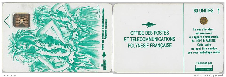 PHONE CARD POLINESIA FRANCESE (E6.7.3 - Palestina