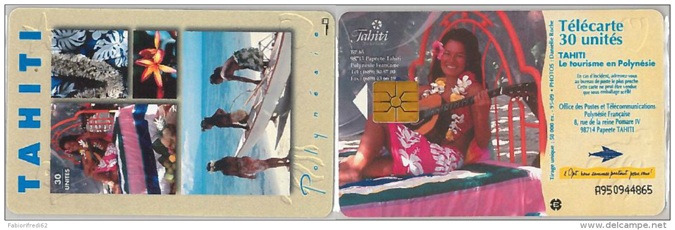 PHONE CARD POLINESIA FRANCESE (E6.7.7 - Palestina