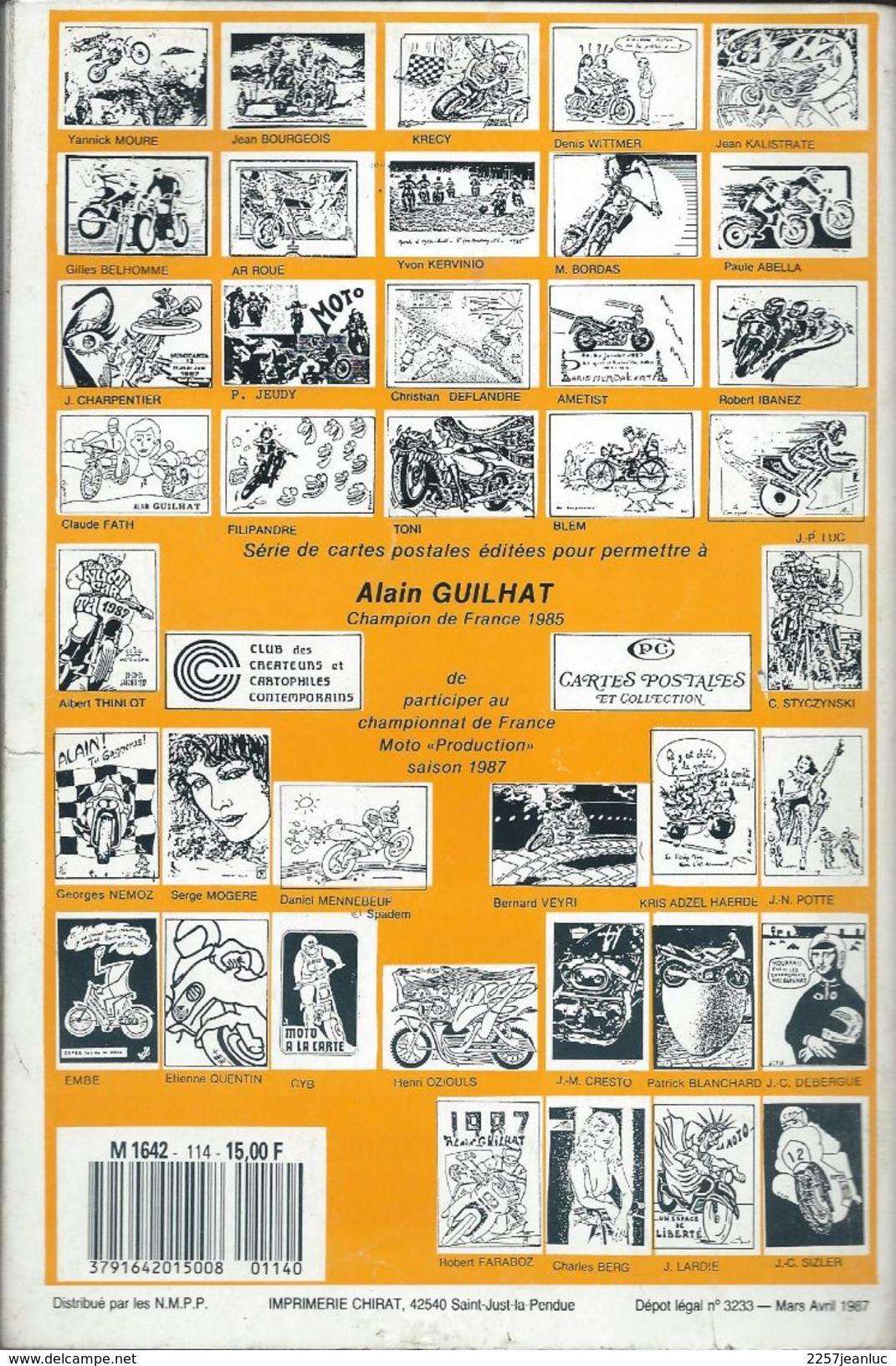 Cartes Postales Et Collections Avril 1987   Magazines N: 114 Llustration &  Thèmes Divers 130 Pages - Français
