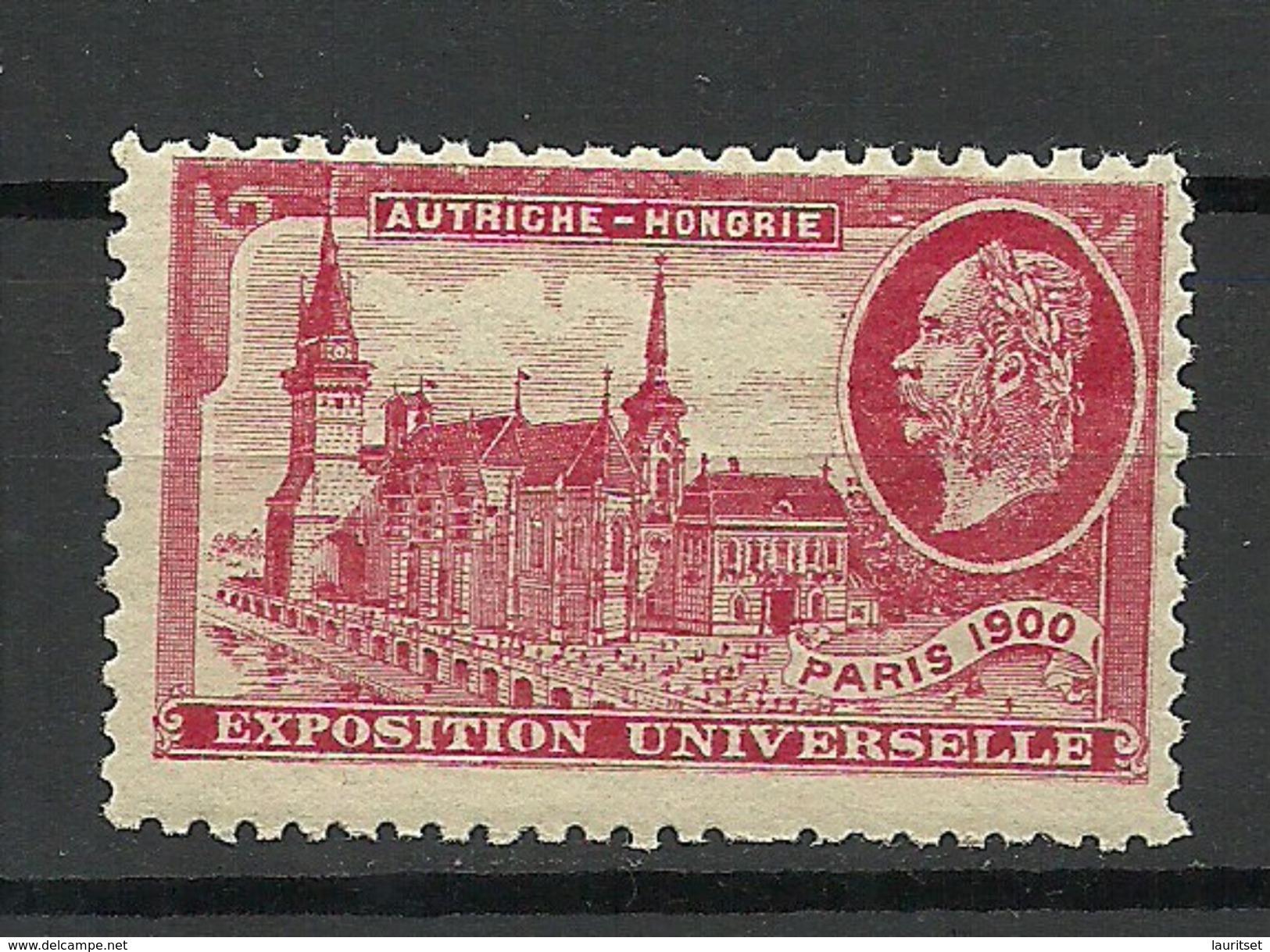 France 1900 EXPOSITION UNIVERSELLE Paris Österreich- Ungarisches Pavillion MNH - 1900 – Paris (Frankreich)