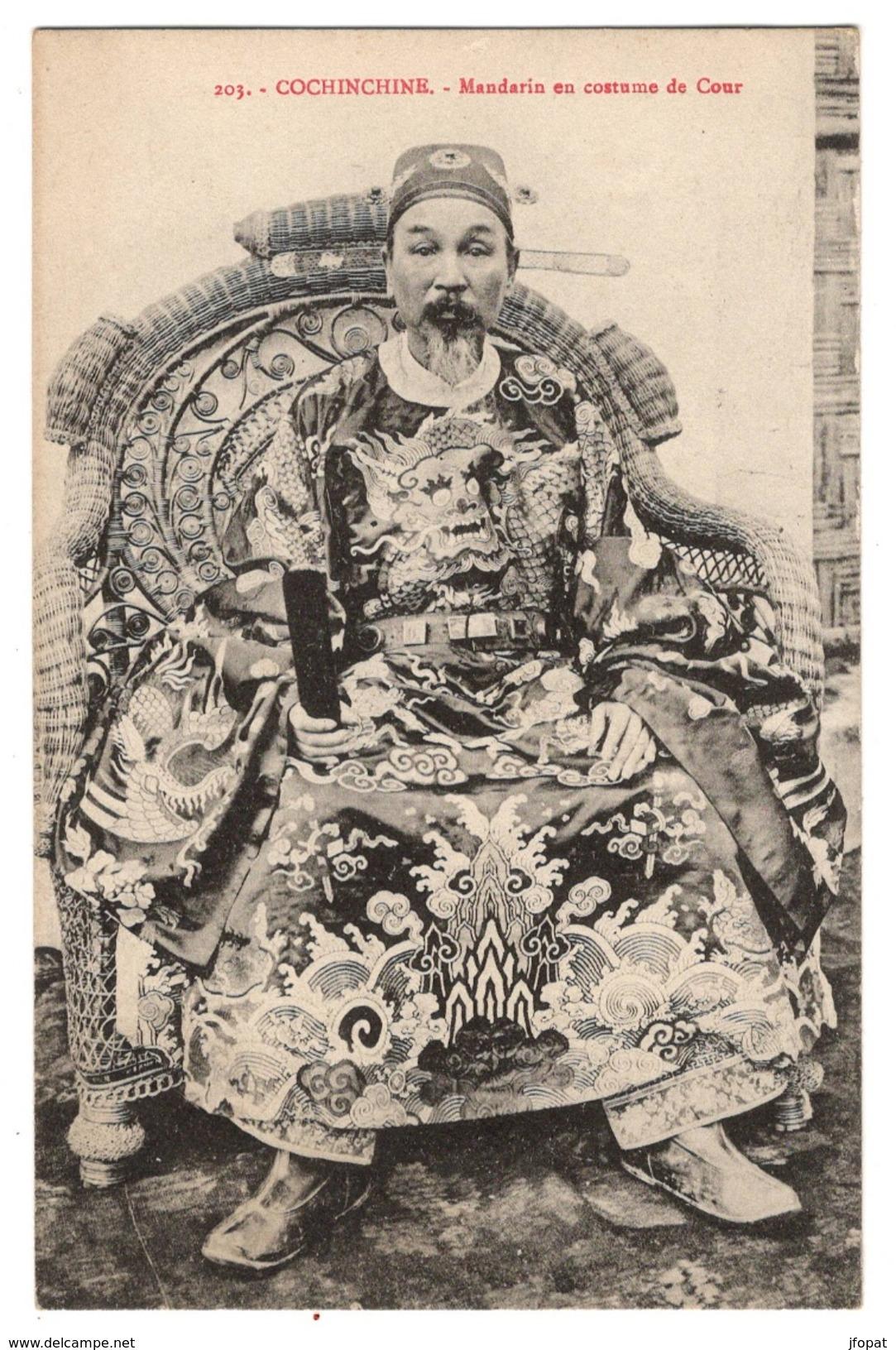 VIET NAM - Mandarin En Costume De Cour - Viêt-Nam