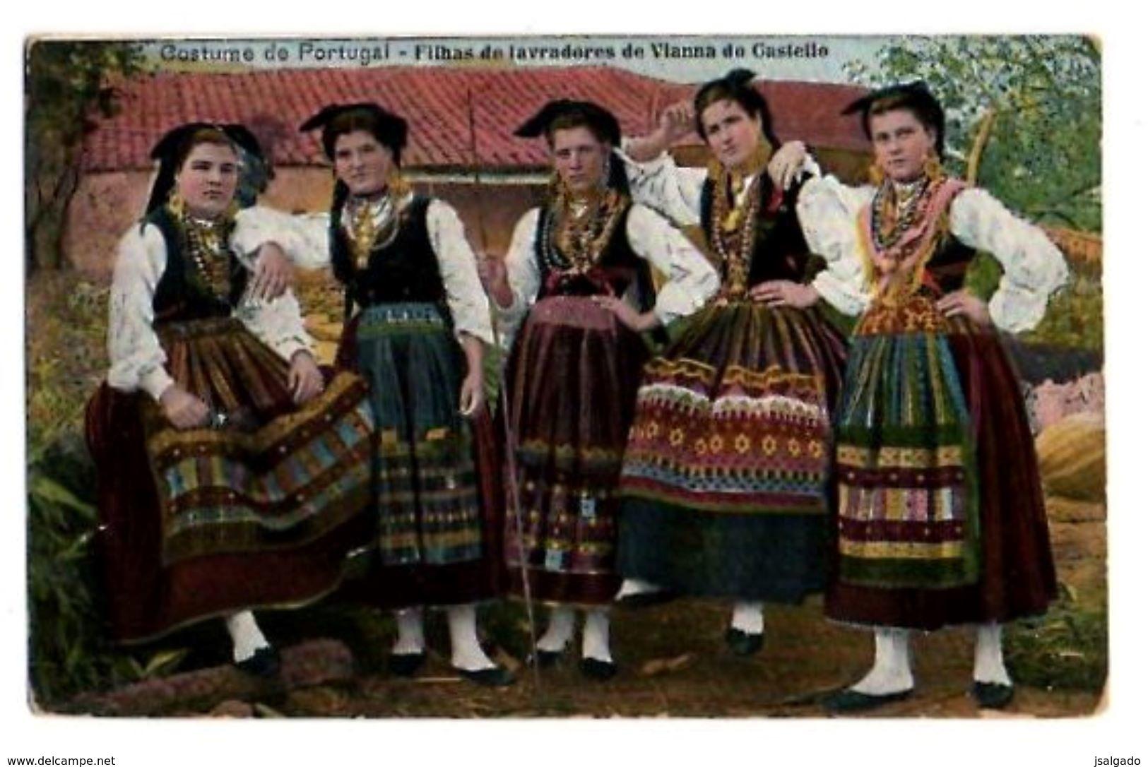 Portugal   Viana Da Castelo   Filhas De Lavradores De Viana Do Castelo  Costume De Portugal - Viana Do Castelo