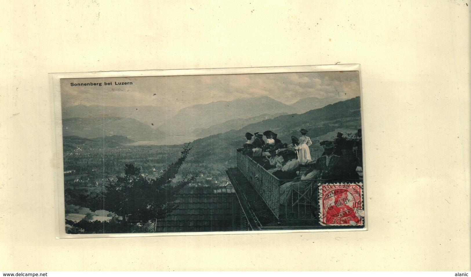 Suisse > LU Lucerne-SONNENBERG BEI LUZERN// 18/12/1910 - LU Lucerne