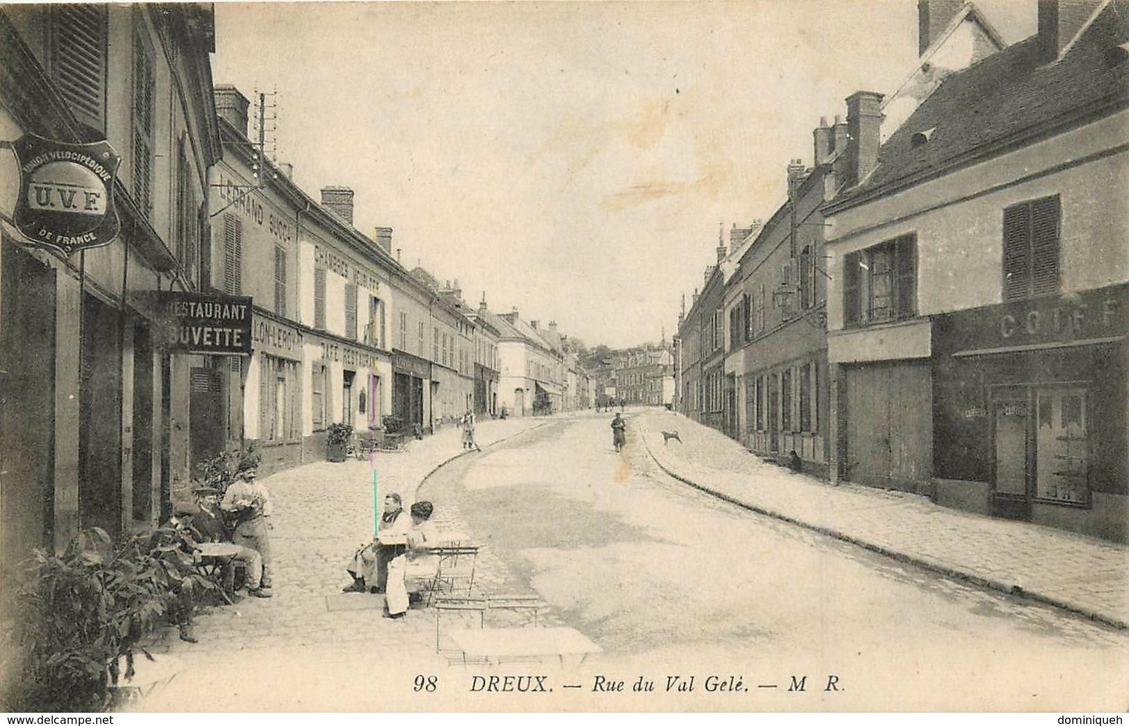 Lot De 50 CPA D'Eure Et Loir 28 Plusieurs Belles Animations - Cartes Postales