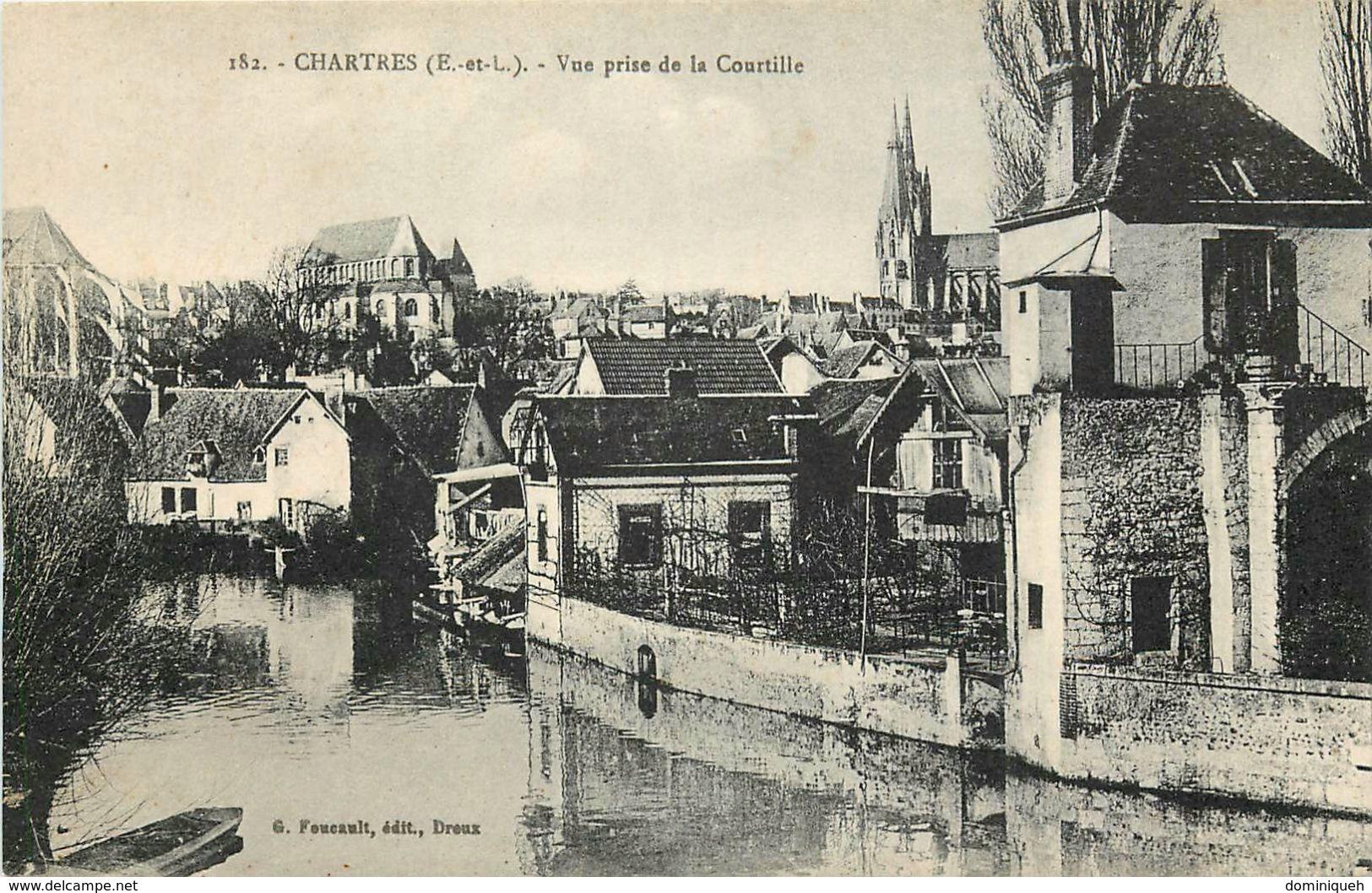 Lot De 50 CPA D'Eure Et Loir 28 Plusieurs Belles Animations - Ansichtskarten