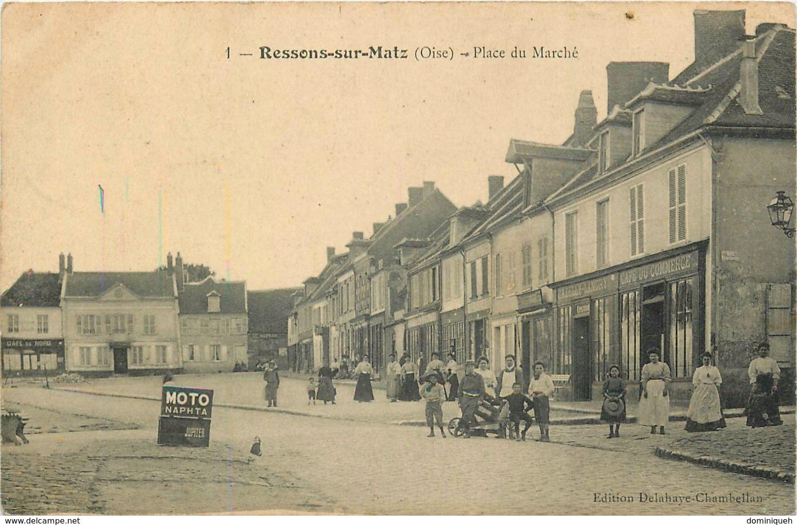 Lot De 50 CPA De L'Oise 60 Plusieurs Animations - Postcards