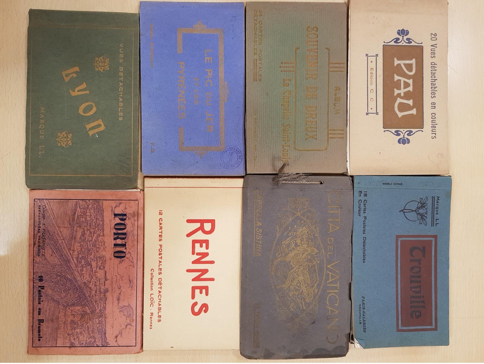 Lot De 67 Carnets - Ansichtskarten