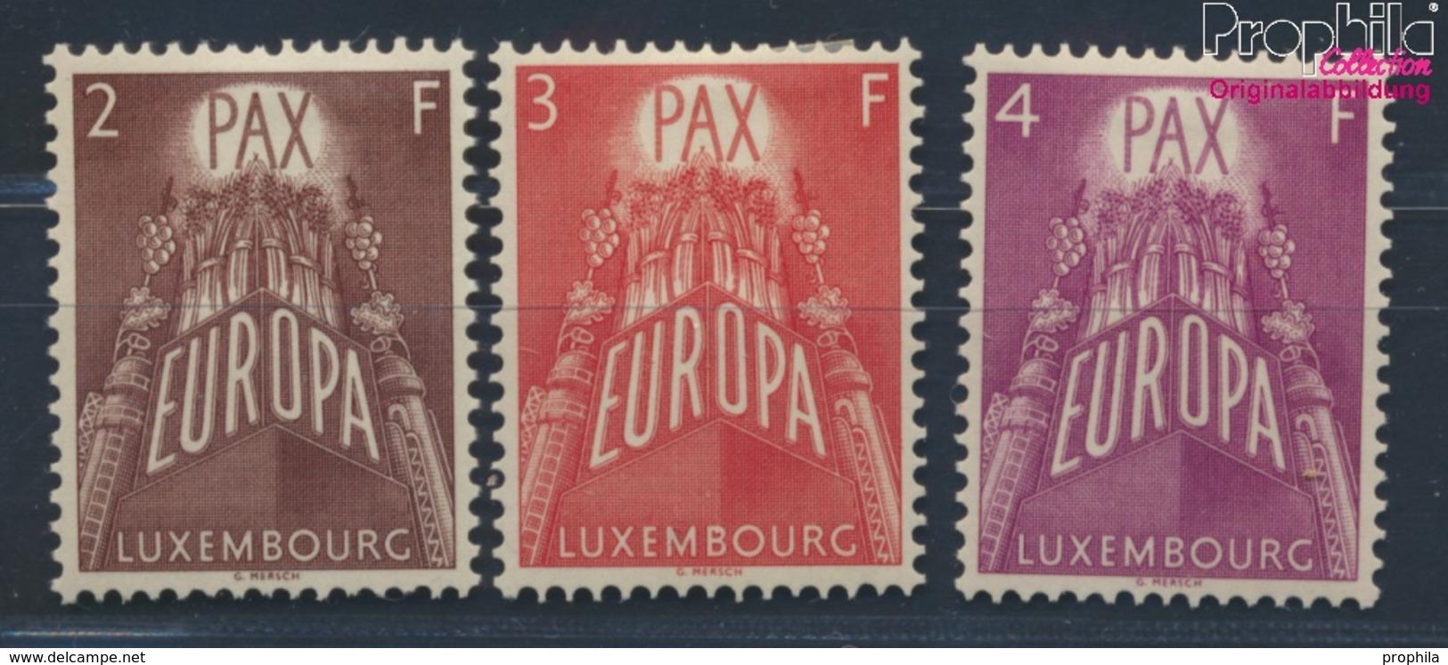 Luxemburg 572-574 (kompl.Ausg.) Mit Falz 1957 Europa (8669994 - Luxemburg