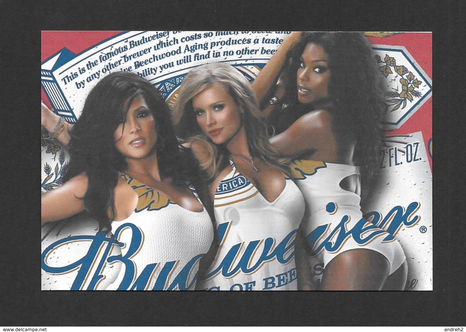 PUBLICITÉ - ADVERTISING - BIÈRE BUDWEISER AVEC DE TRÈS JOLIES FILLES - Publicité
