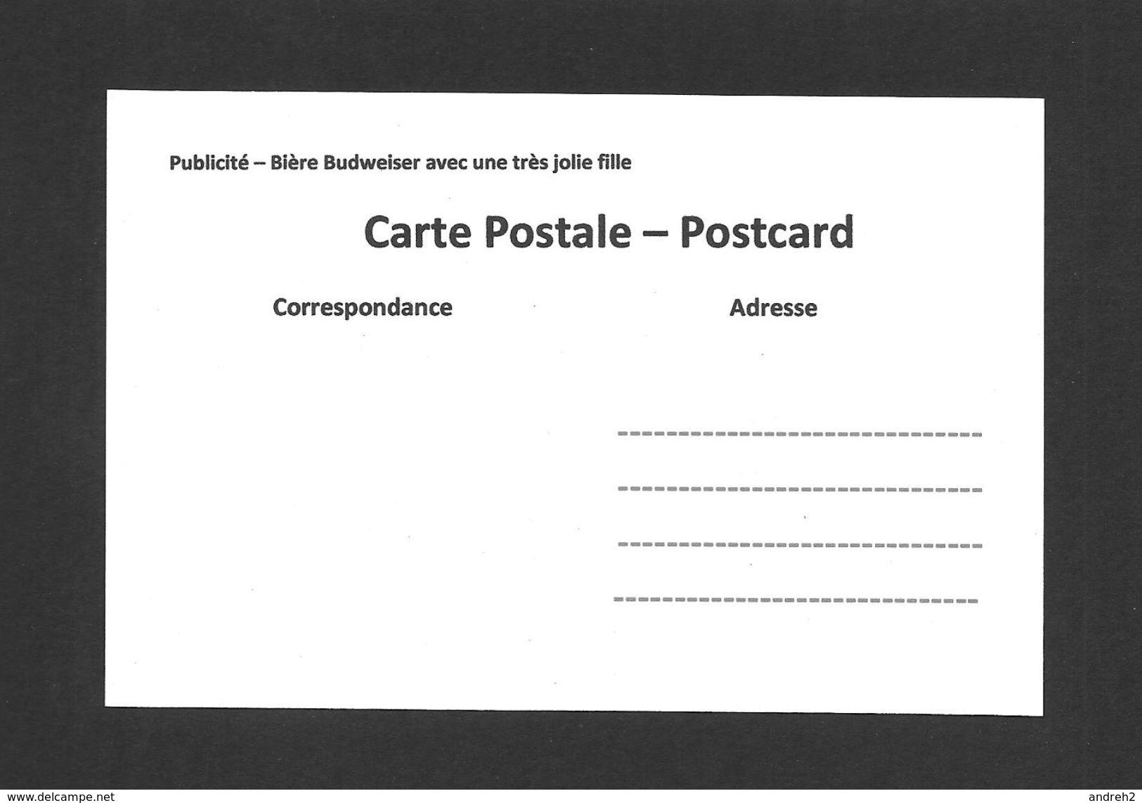 PUBLICITÉ - ADVERTISING - BIÈRE BUDWEISER AVEC UNE TRÈS JOLIE FILLE - Publicité