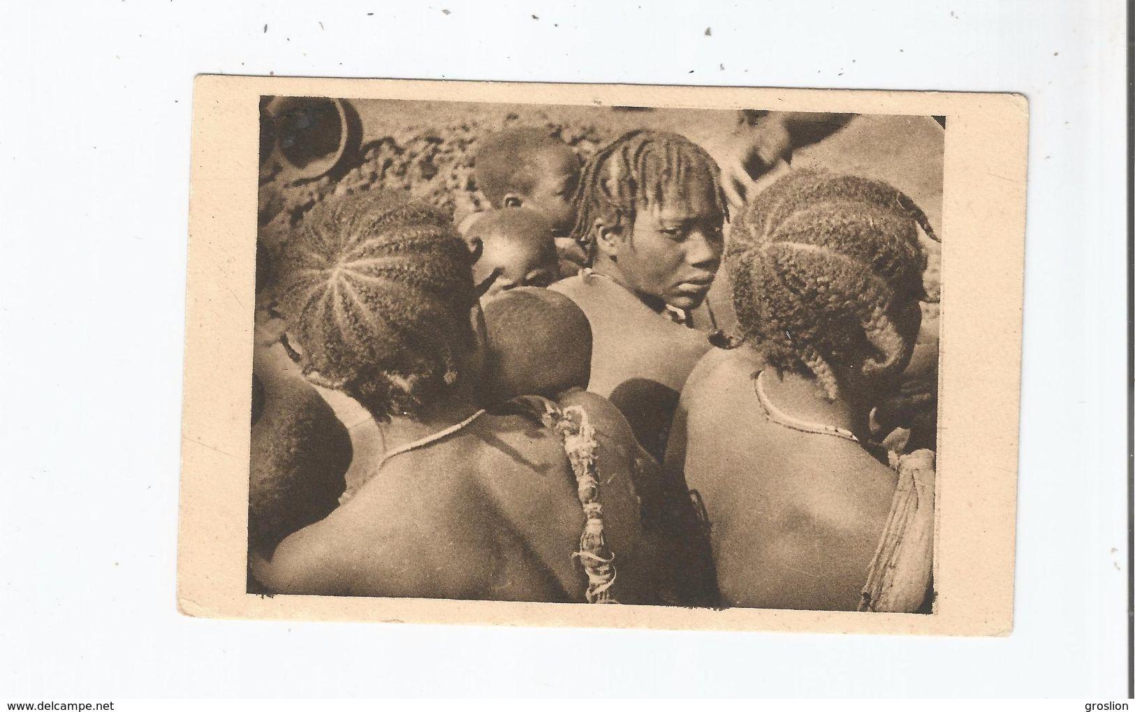 OUBANGUI CHARI (REPUBLIQUE CENTRAFRICAINE) 30 COIFFURES (AFRIQUE EQUATORIALE FRANCAISE) - Centrafricaine (République)
