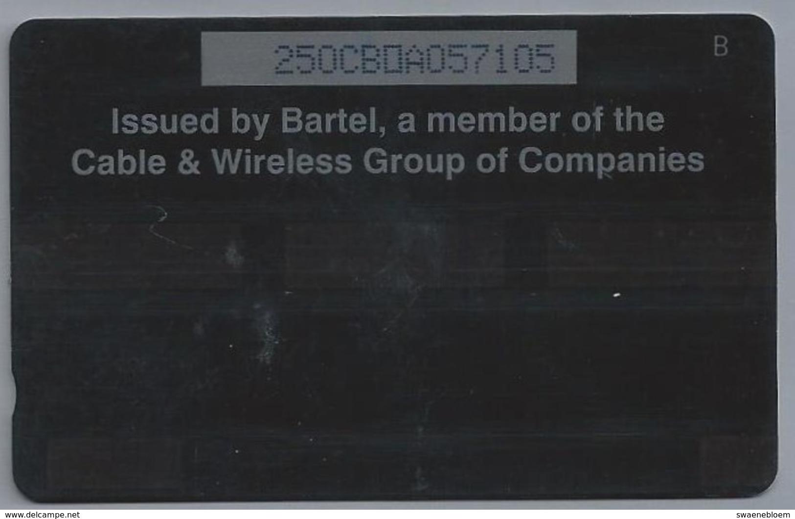 Telefoonkaart. Caribbean PHONE CARD. BARTEL. BRIDGETOWN CRUISE TERMINAL. BARBADOS. BDS $ 10. 2 Scans - Antilles (Netherlands)