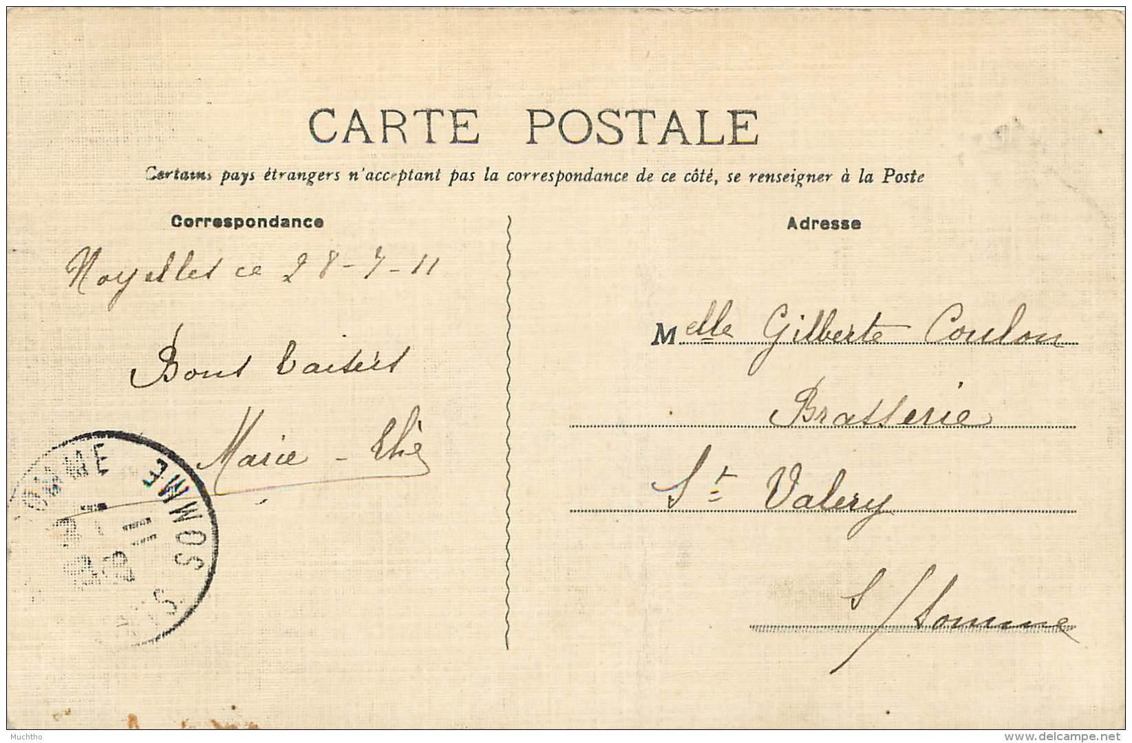 Dep - 80 - NOYELLES SUR MER Vue Générale De La Gare - Noyelles-sur-Mer