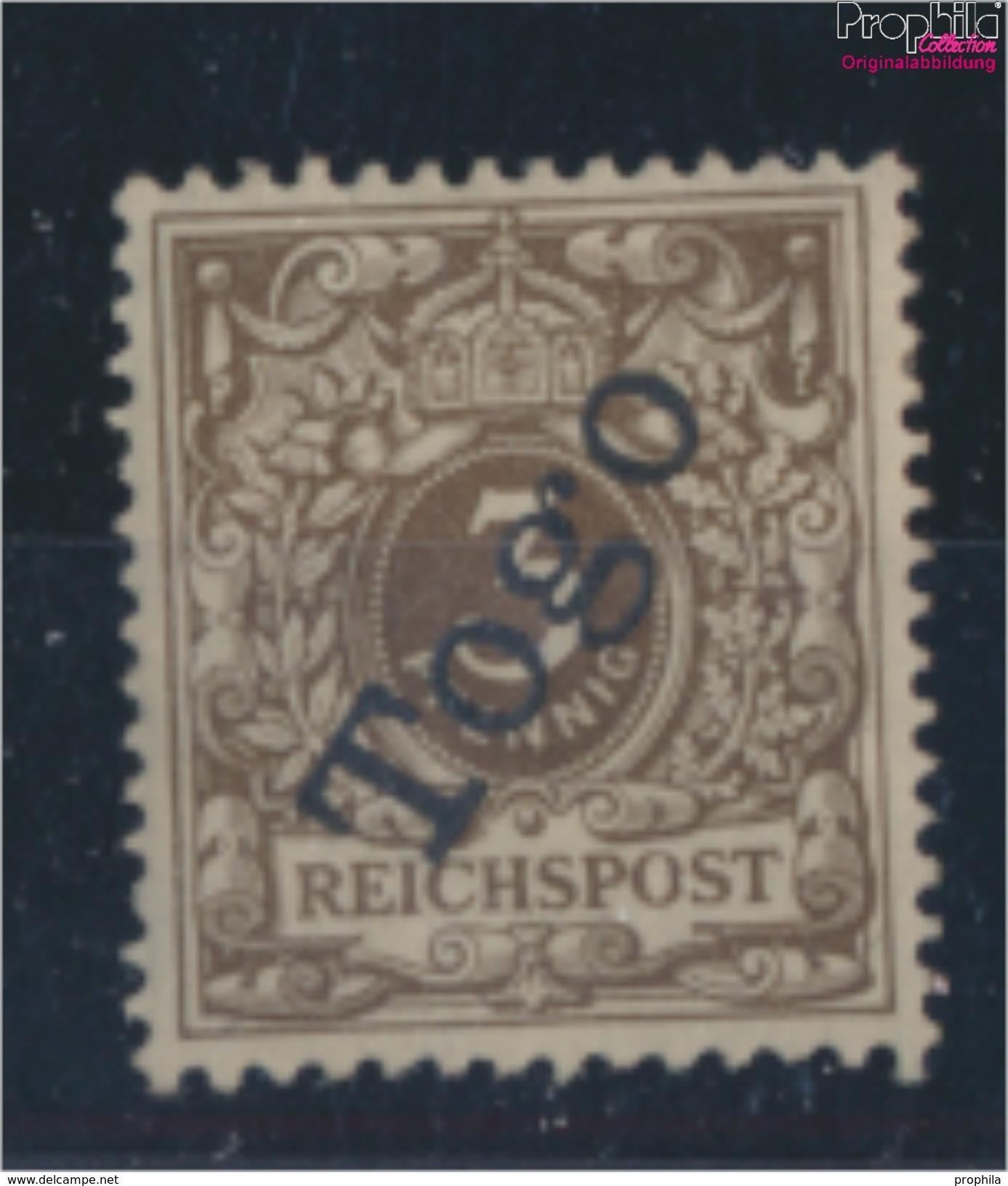 Togo (Dt. Kolonie) 1d Geprüft Mit Attest Mit Falz 1898 Aufdruckausgabe (9063449 - Kolonie: Togo