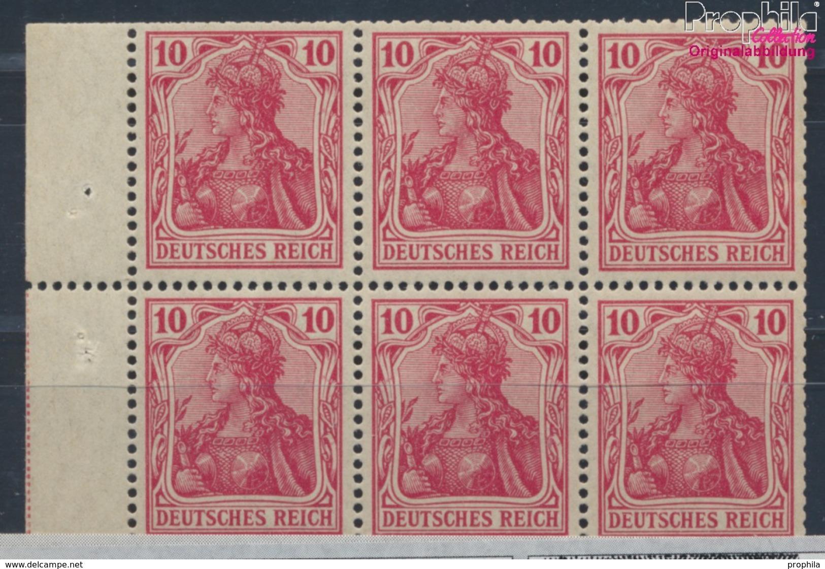 Deutsches Reich Hbl1II A Kriegsdruck Mit Falz 1910 Germania (7660425 - Deutschland