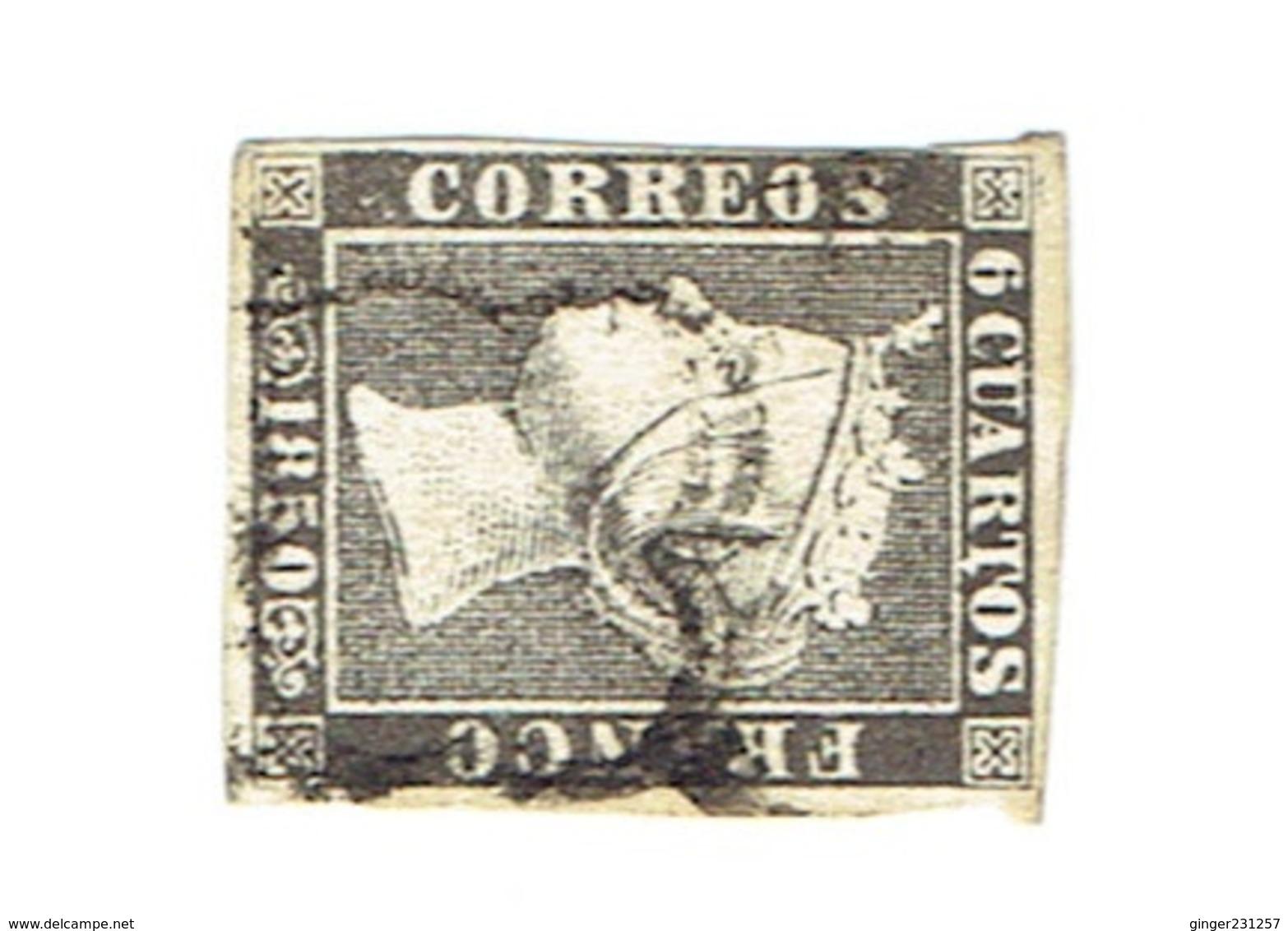 Timbres Espagne 1850 Oblitérés - Spain