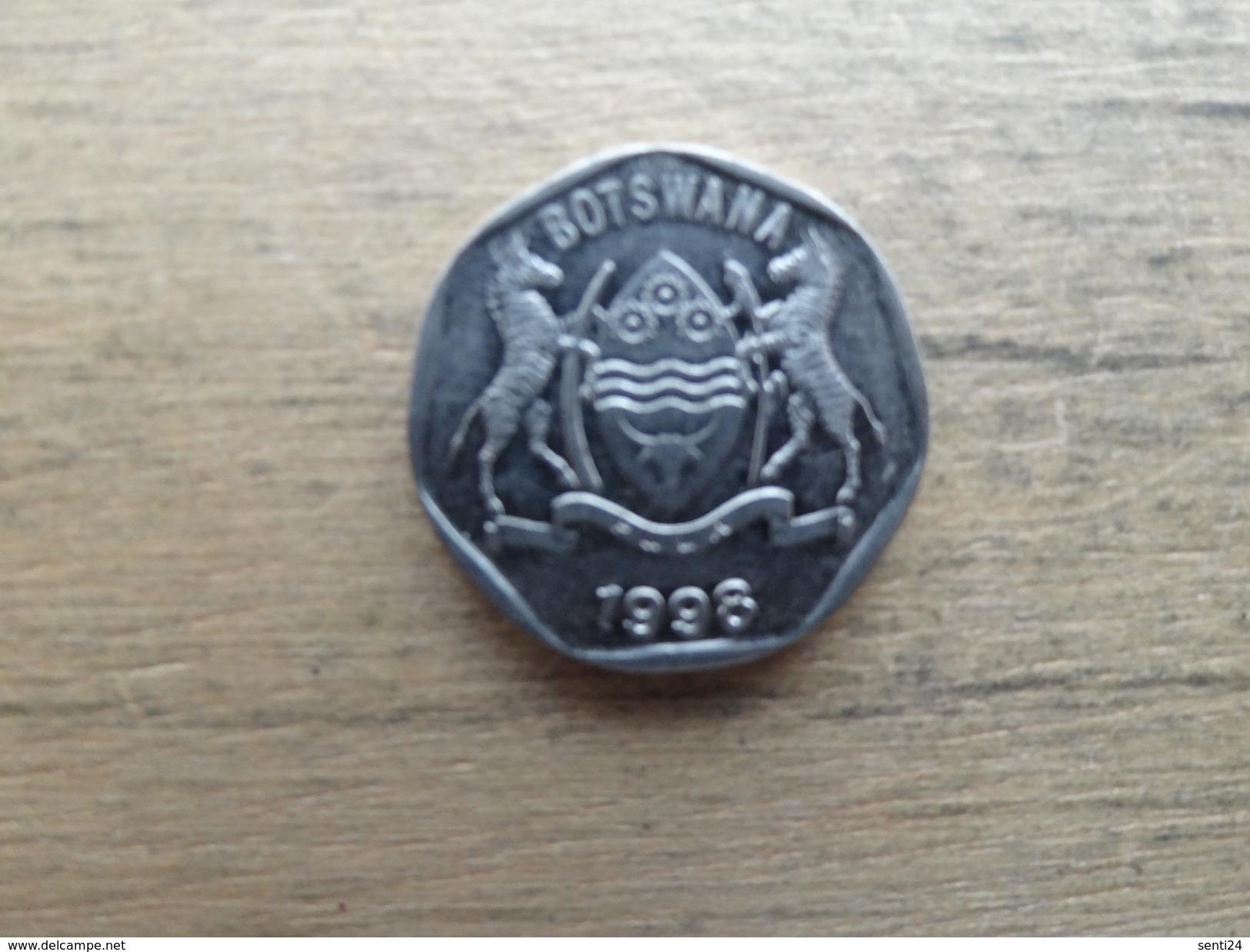 Botswana  25  Thebe  1998  Km 28 - Botswana