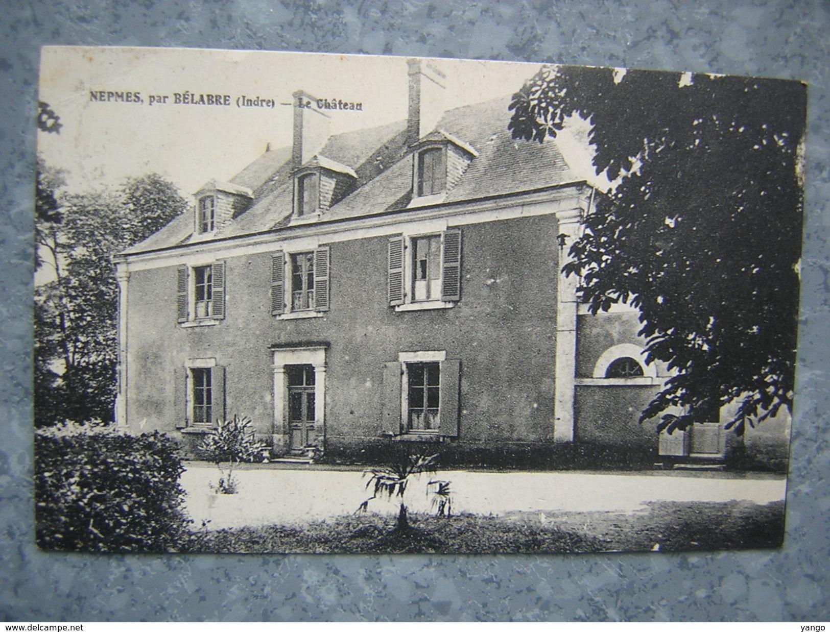 NEPMES PAR BELABRE - LE CHATEAU - France
