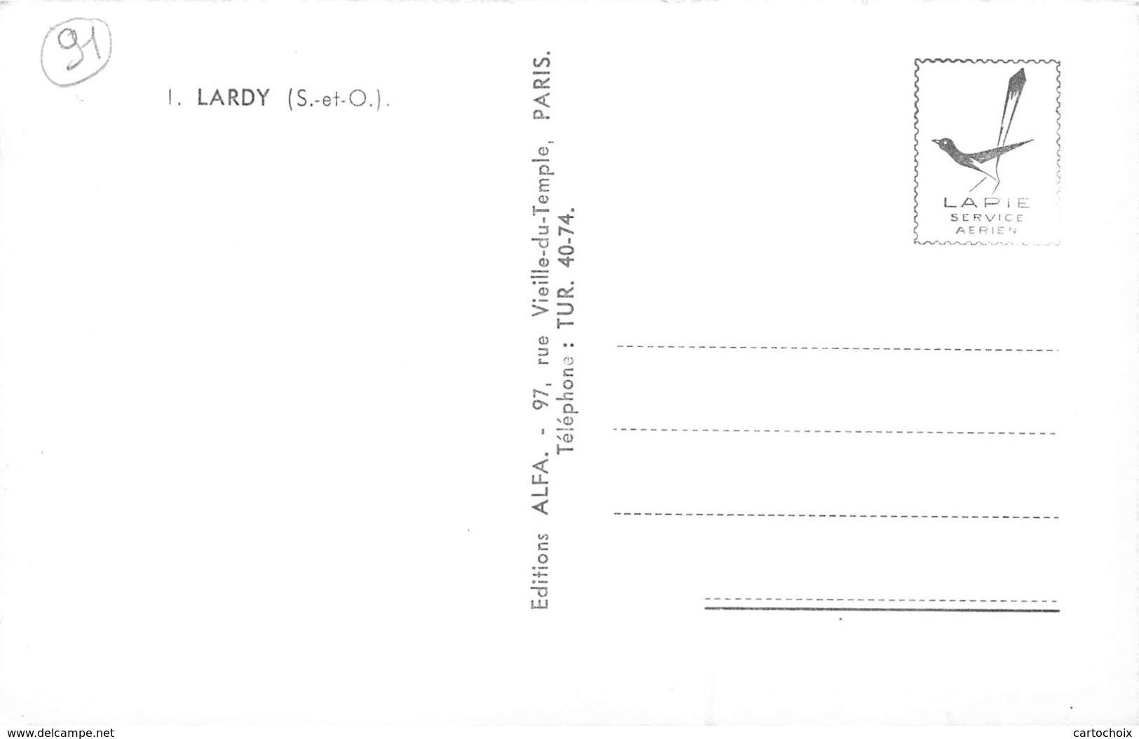 91 - Lardy - Un Beau Panorama - Lardy