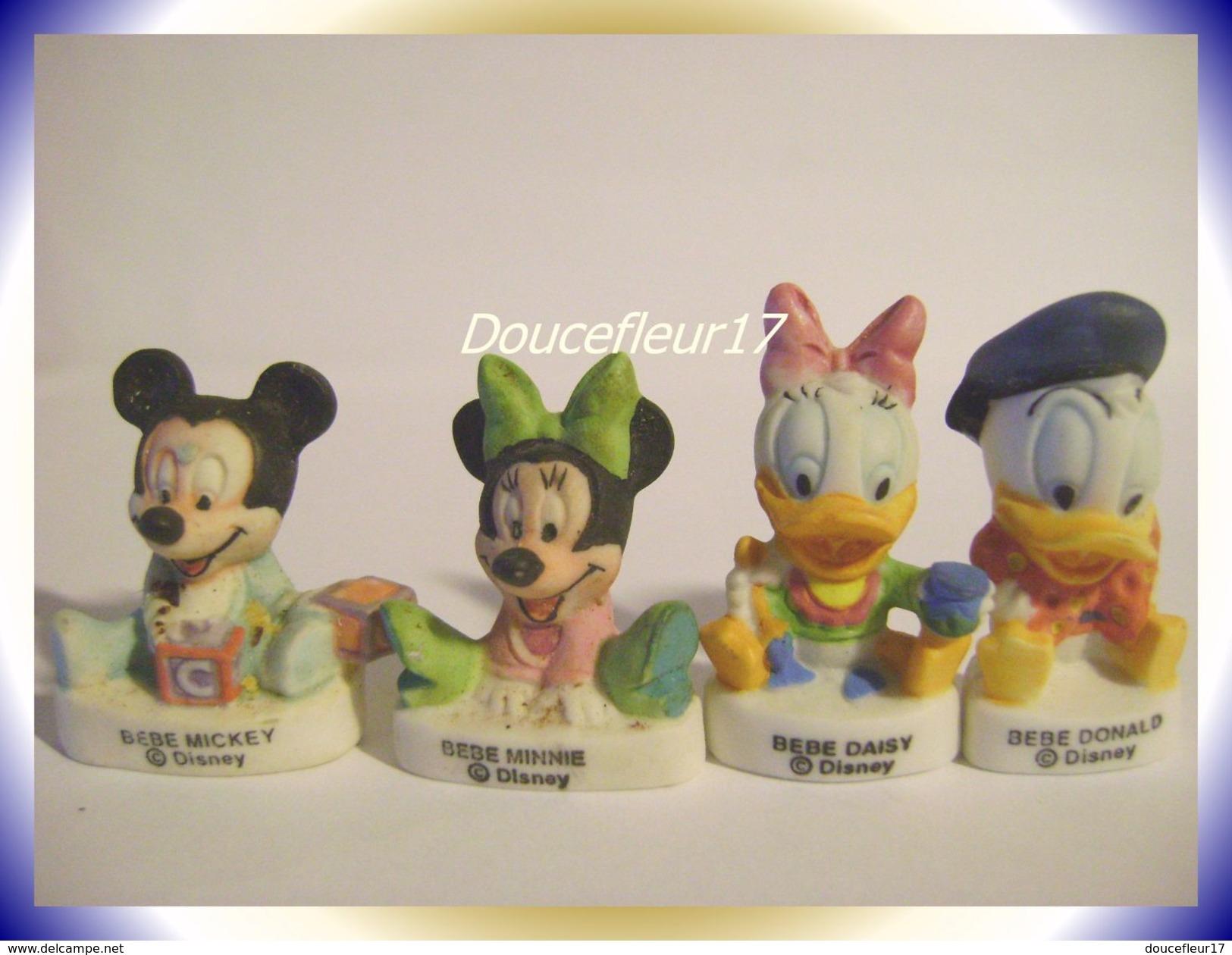 Bébés Disney .. Lot De 4 Fèves ... Ref AFF : 23-2002.  ( Pan 0020) - Disney