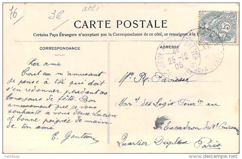 76 - SERNAPONT : Rue De L'Eglise Et Le Pont Sur L'Améline - CPA - Seine Maritime - France