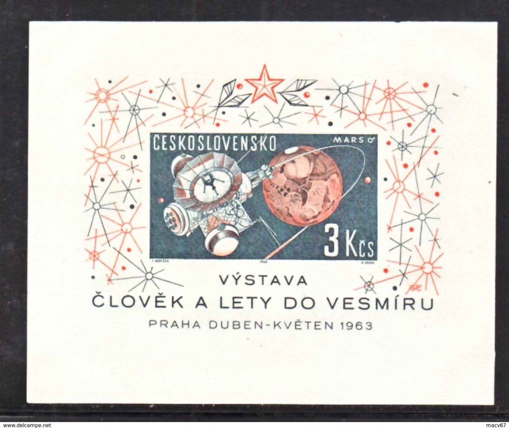 CZECHOSLOVAKIA  1175   **   SPACE  ROCKET  SATURN - Space