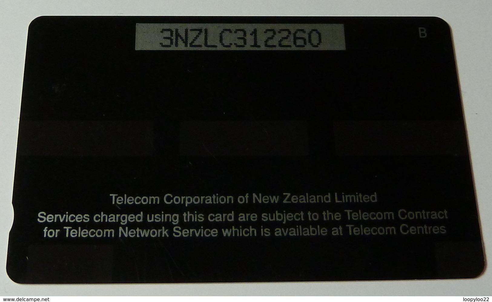 NEW ZEALAND - GPT - Green & Orange - NZ-G-12c - 3NZLC - $10 - Silver Strip - Mint - New Zealand