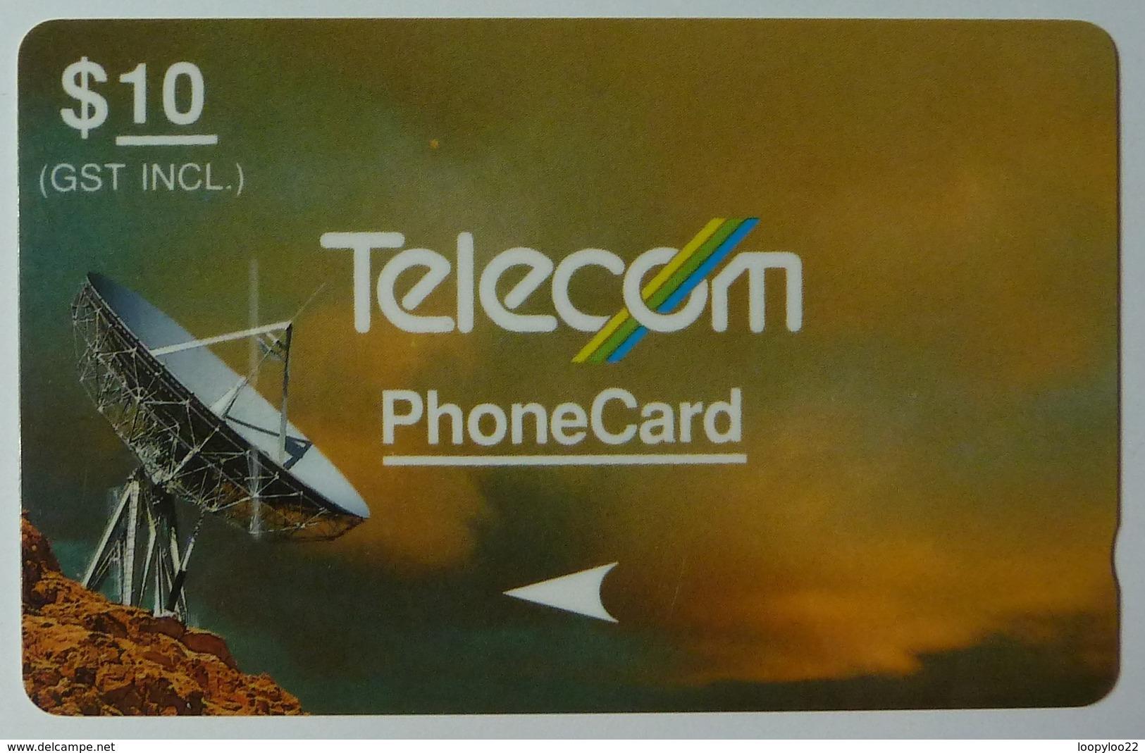 NEW ZEALAND - GPT - Green & Orange - Satellites - NZ-G-12b - 2NZLC - $10 - Mint - New Zealand