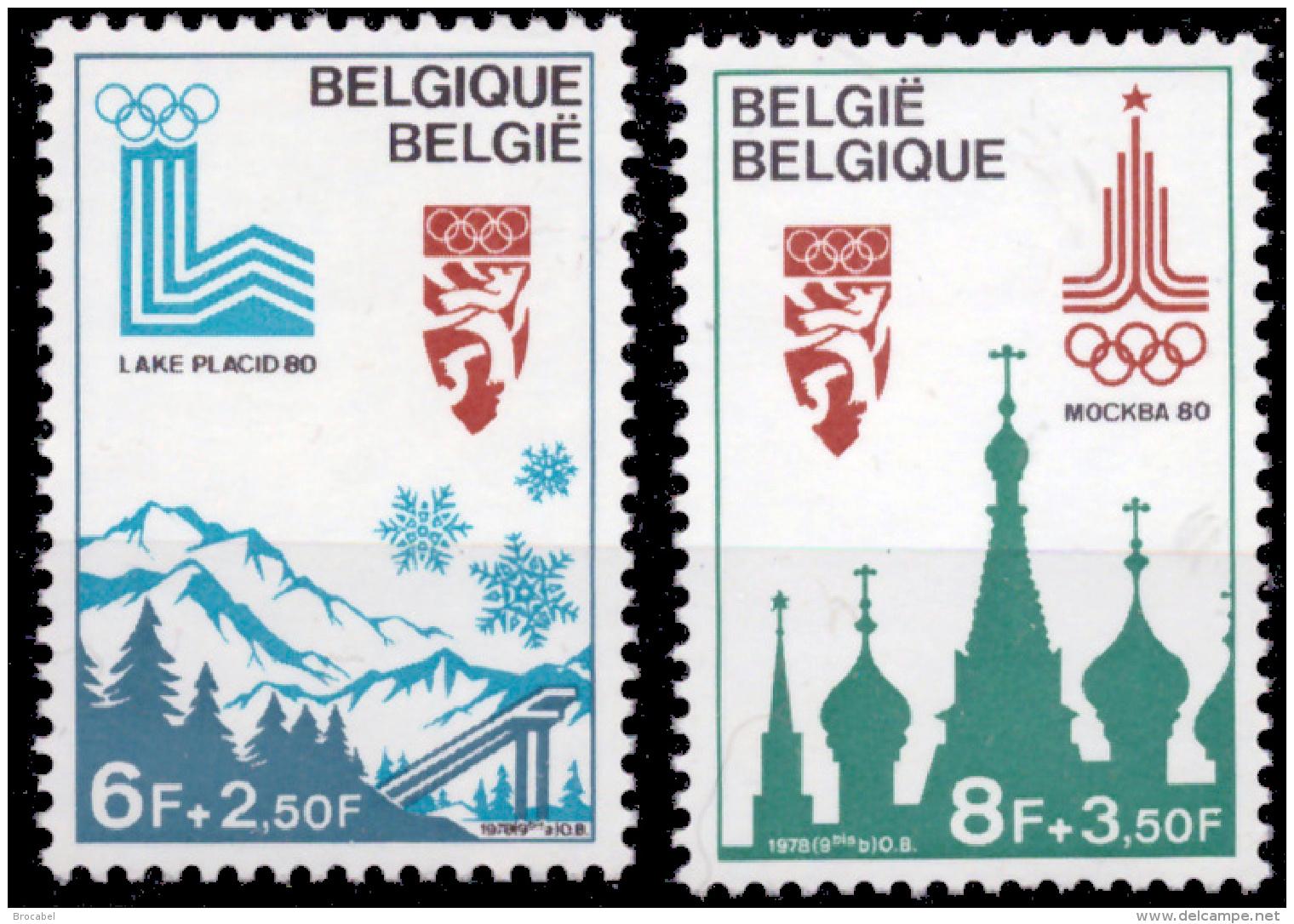 Belgium 1913/14**  Jeux Olympiques De Moscou  MNH - Belgique