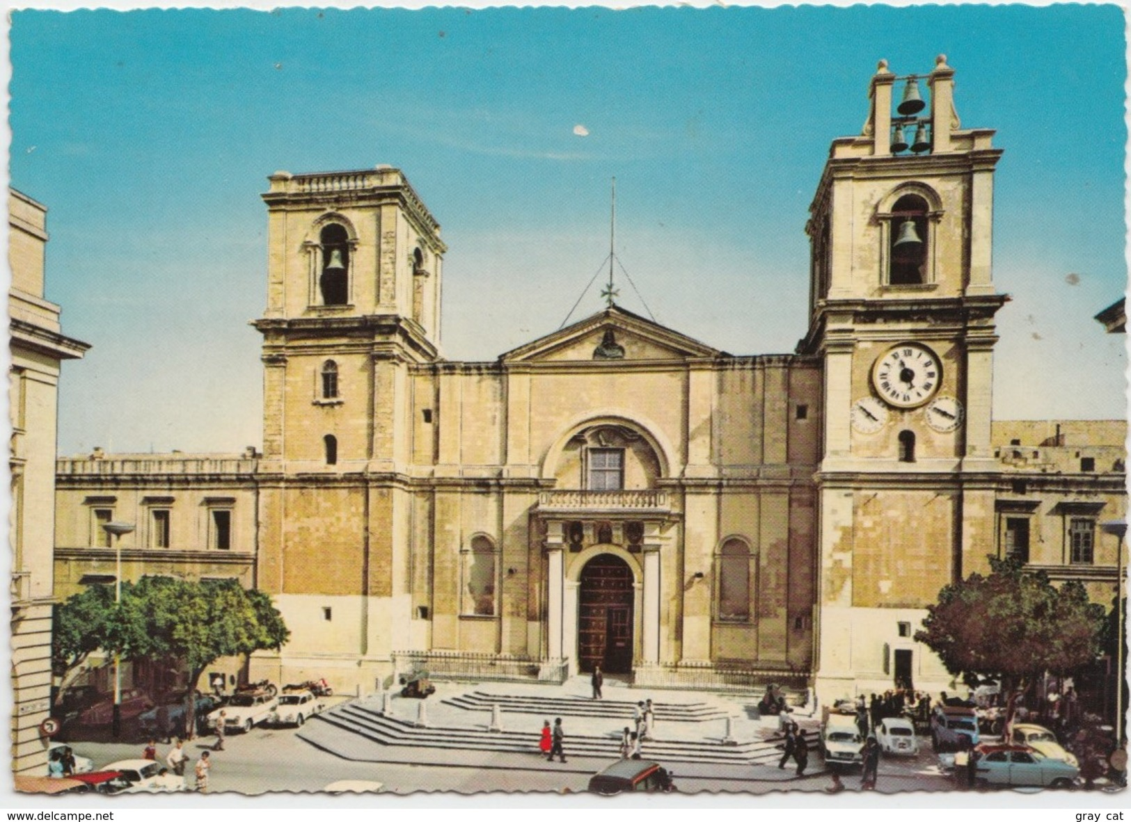 MALTA, St. John's Co-Cathedral, 1960s Unused Postcard [20678] - Malta