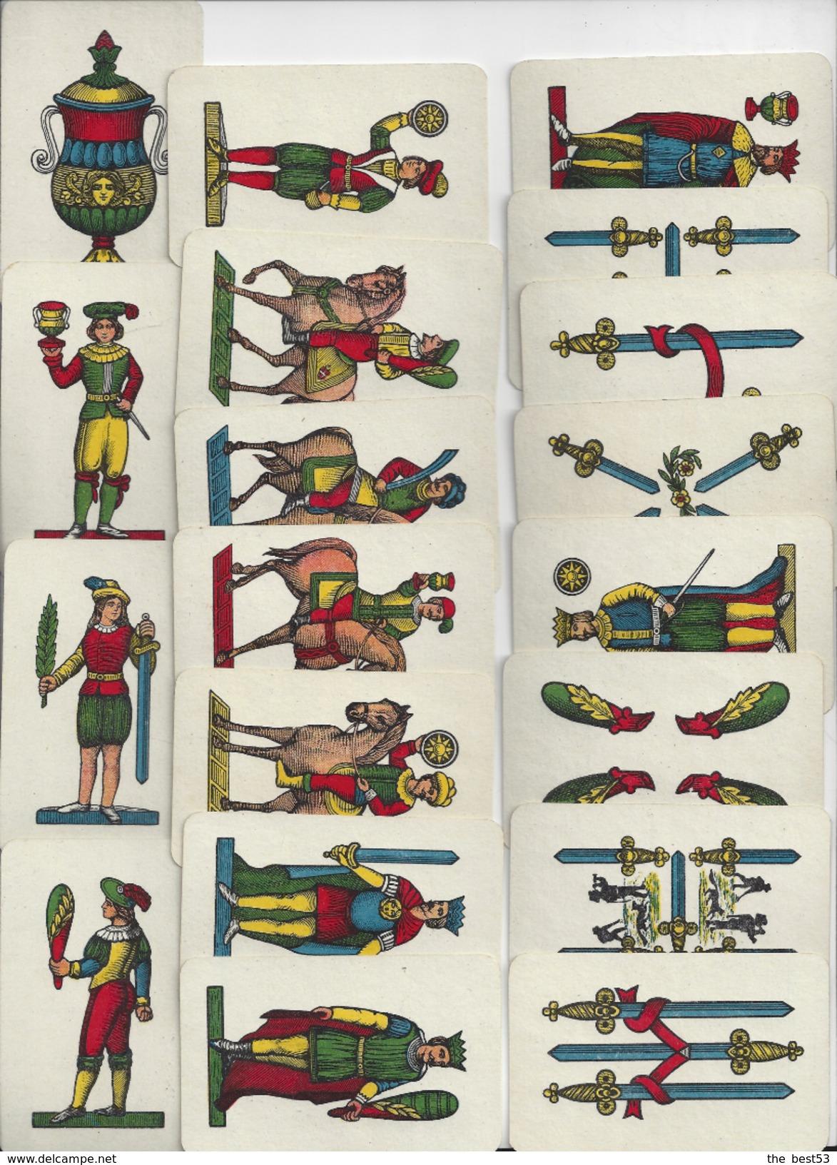 Jeux De Cartes  -  Napoletane N° 97  -  Modiano Trieste  1934 - Cartes à Jouer