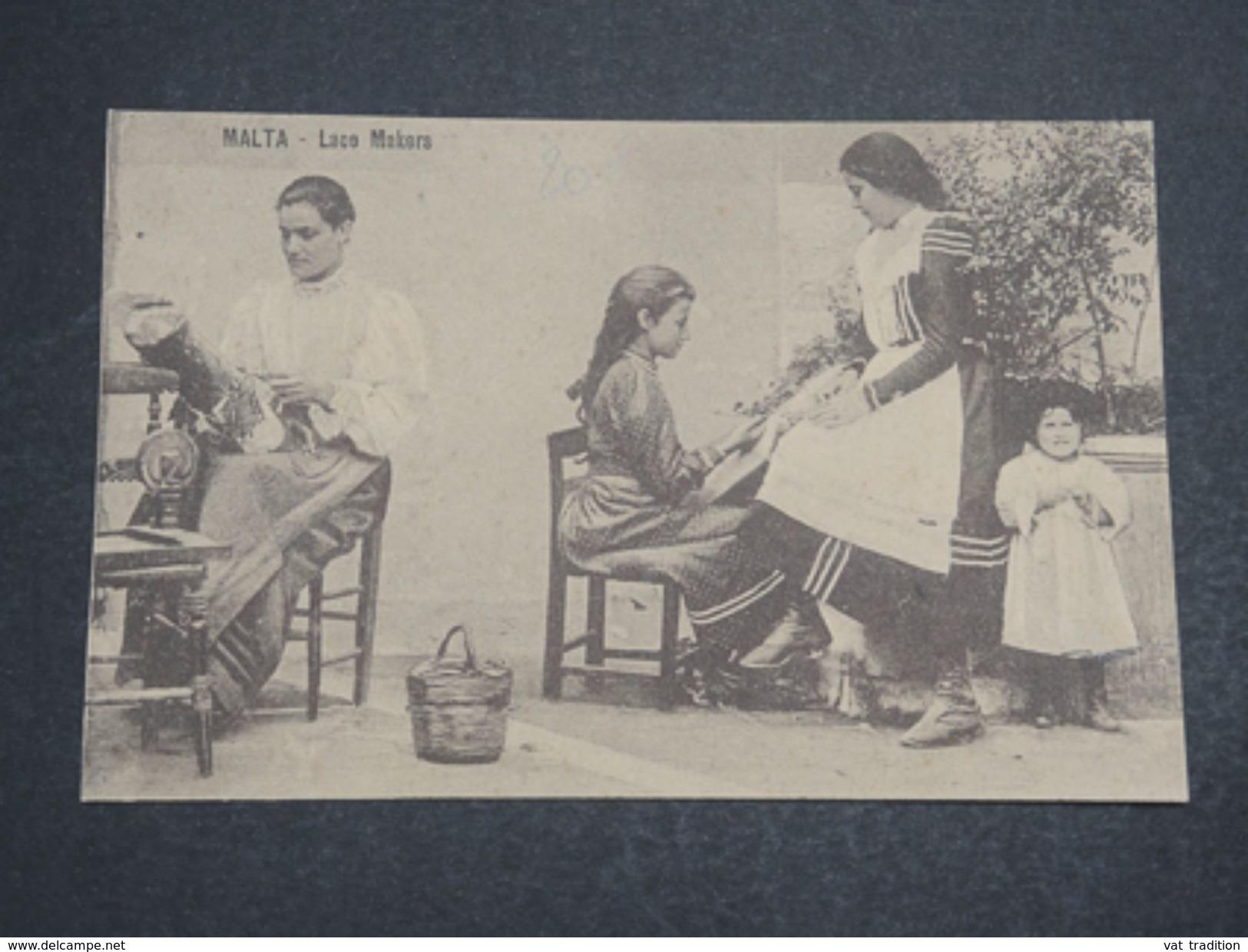 MALTE  - Carte Postale , Lace Makers - L 10179 - Malte