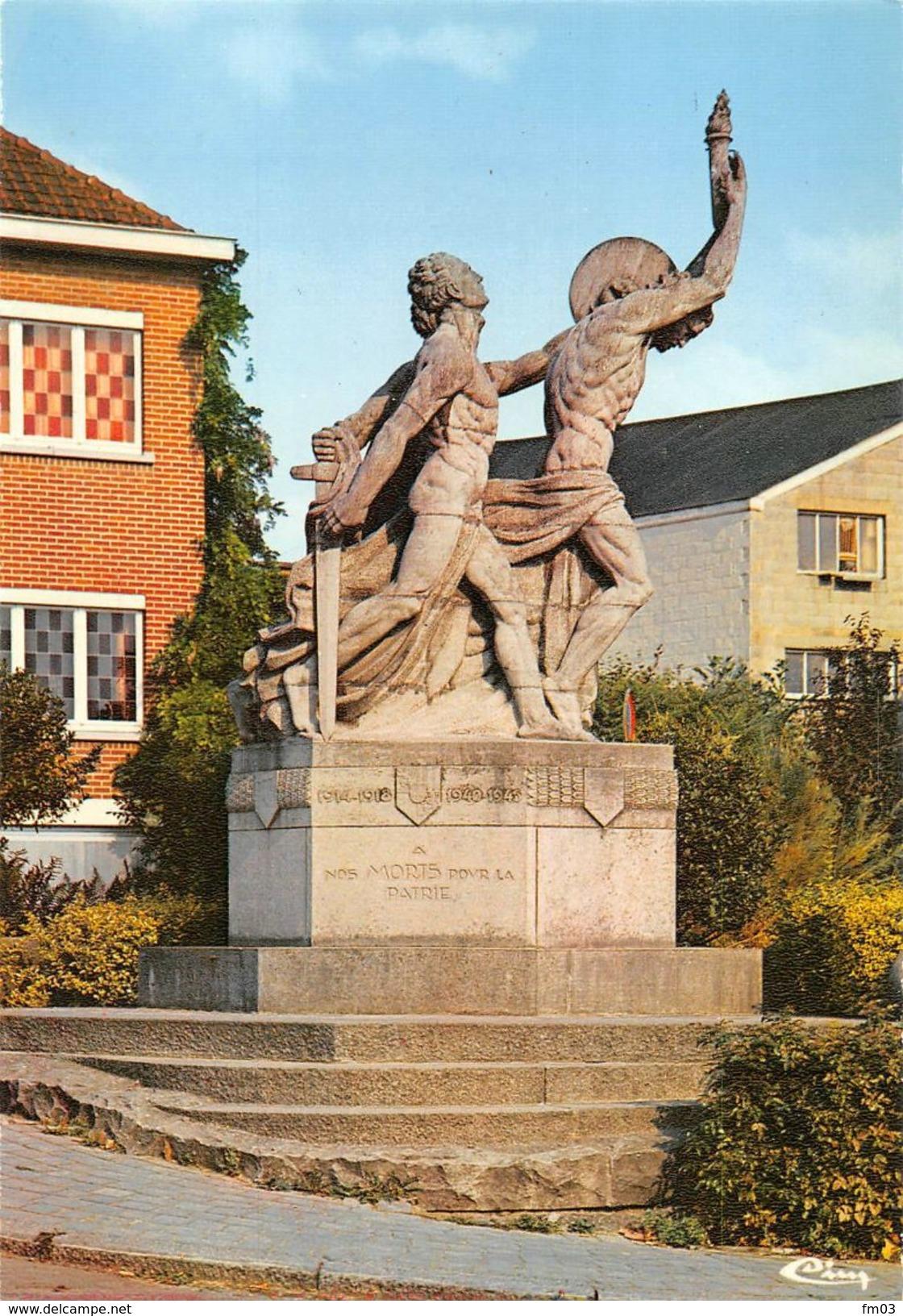 Ecaussinnes D'Enghien Monument Aux Morts - Ecaussinnes