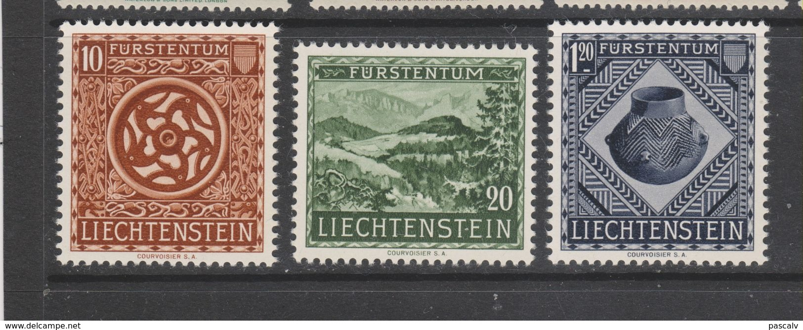 Yvert 281 / 283 ** Neuf Sans Charnière - Liechtenstein