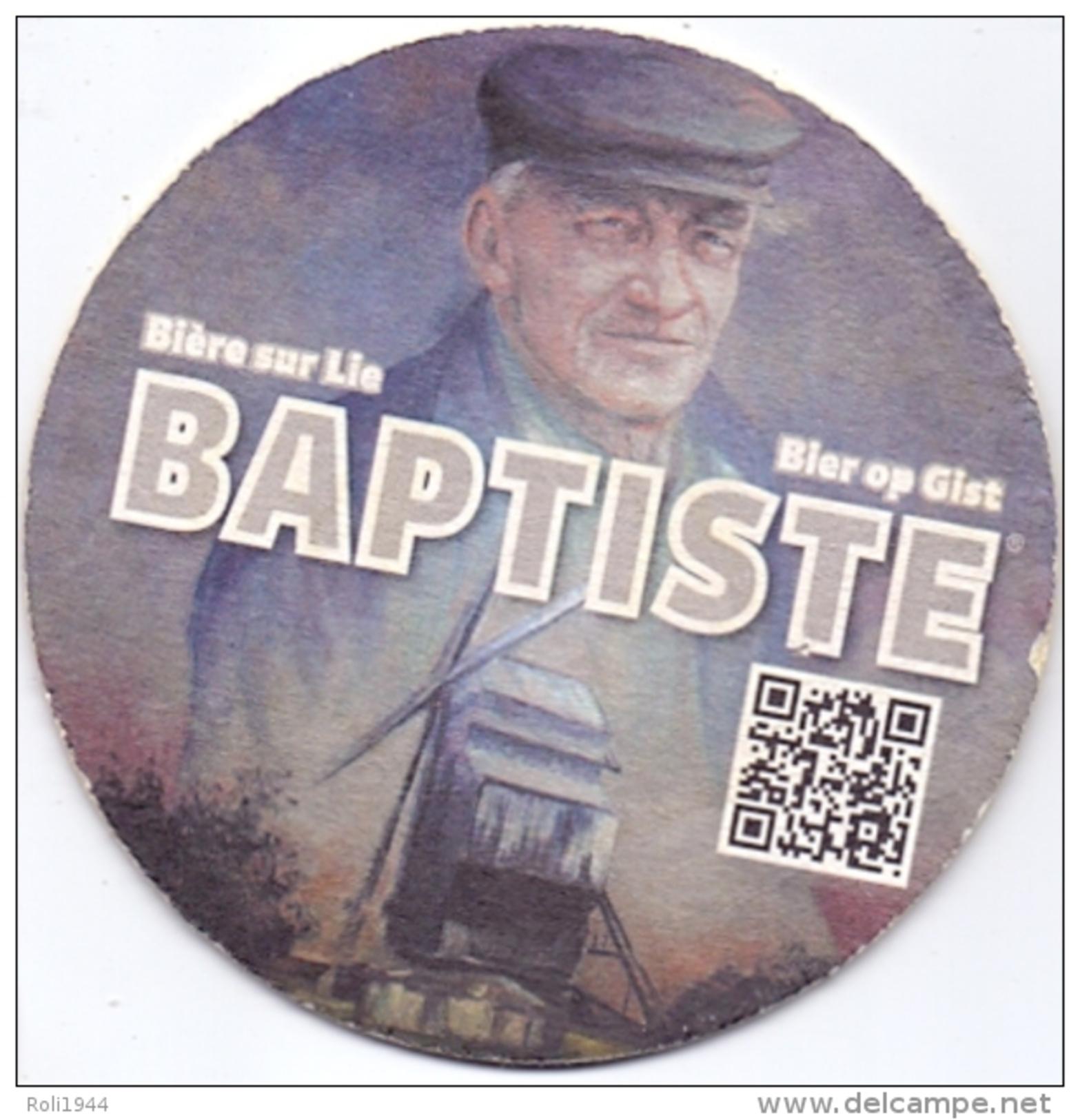 #D173-130 Viltje Baptiste (Brasserie Bataille Wervik) - Sous-bocks