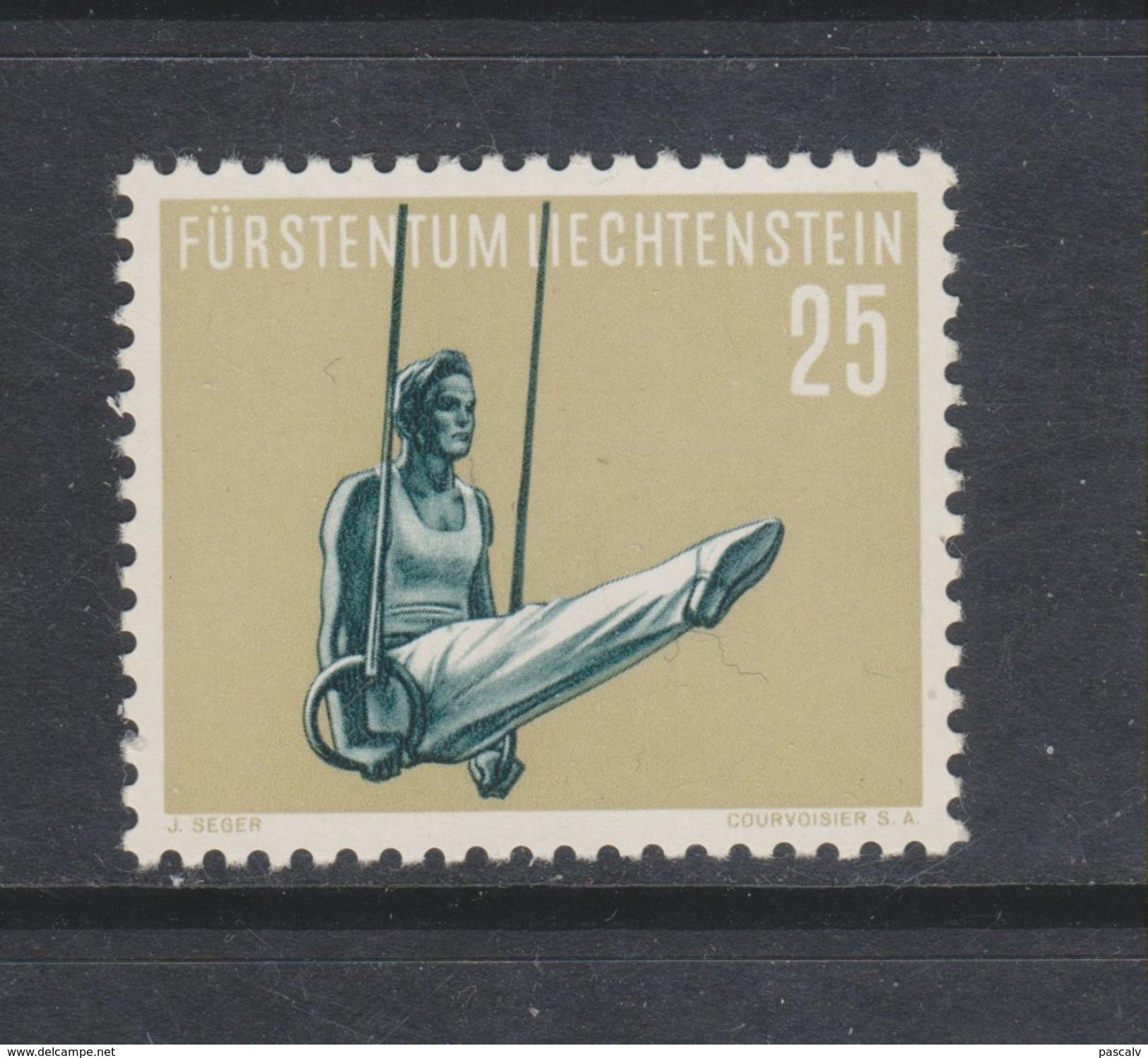 Yvert 317 ** Neuf Sans Charnière Sport Gymnastique - Liechtenstein