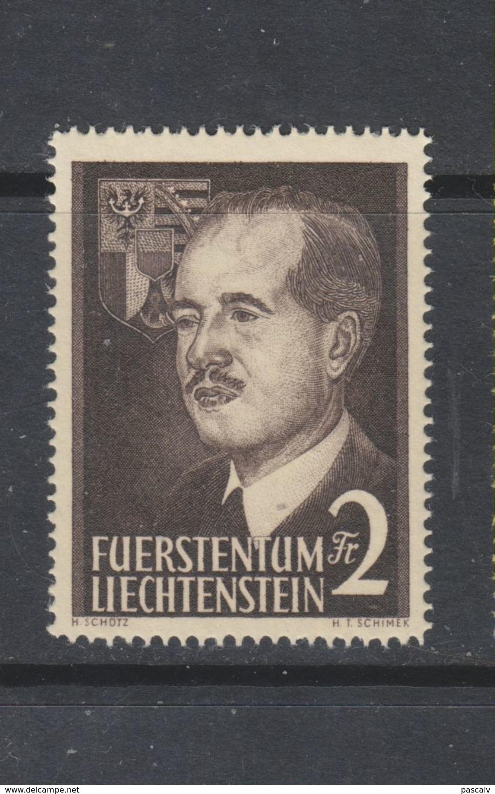 Yvert 294 ** Neuf Sans Charnière - Liechtenstein
