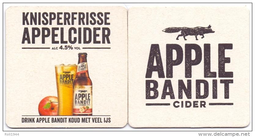 #D178-014 Viltje Apple Bandit Cider - Sous-bocks