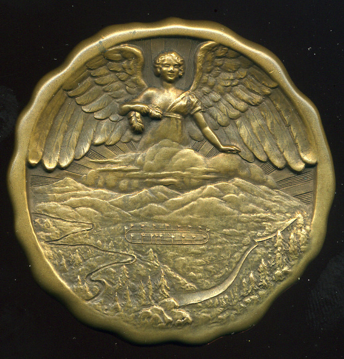 LAKE PLACID WINTER OLYMPICS 1932.  Bronze Medal And Attached Diploma! (one Of The 6 Medals Won By Hungarians!) R! - Pin's