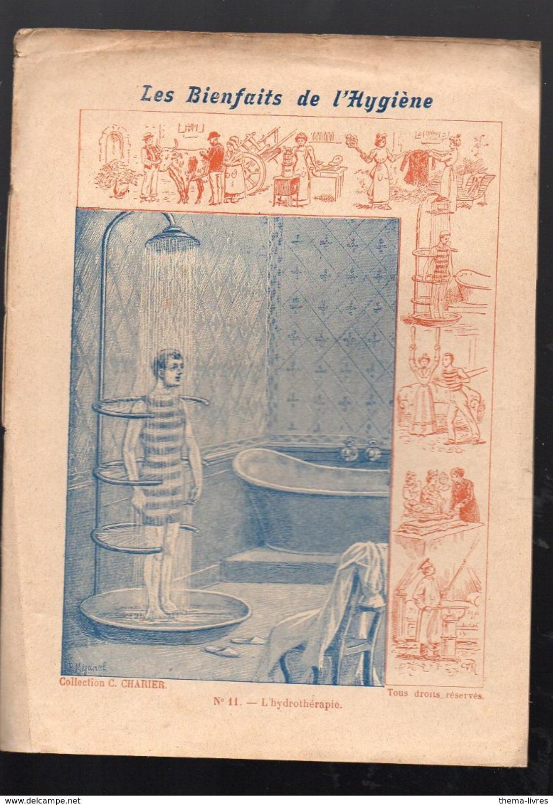 """Couverture De Cahier """"les Bienfaitsn De L'hygiène """" 11 Hydrothérapie. (PPP6443) - H"""
