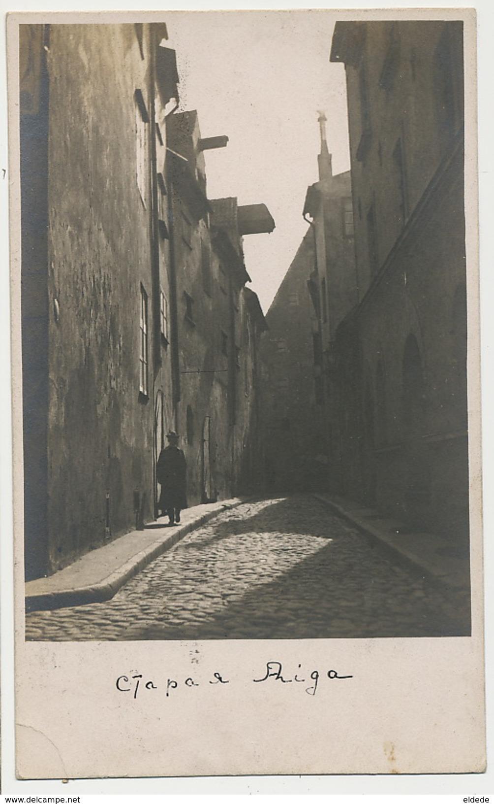 Real Photo Riga  P. Used 1925 - Lettonie