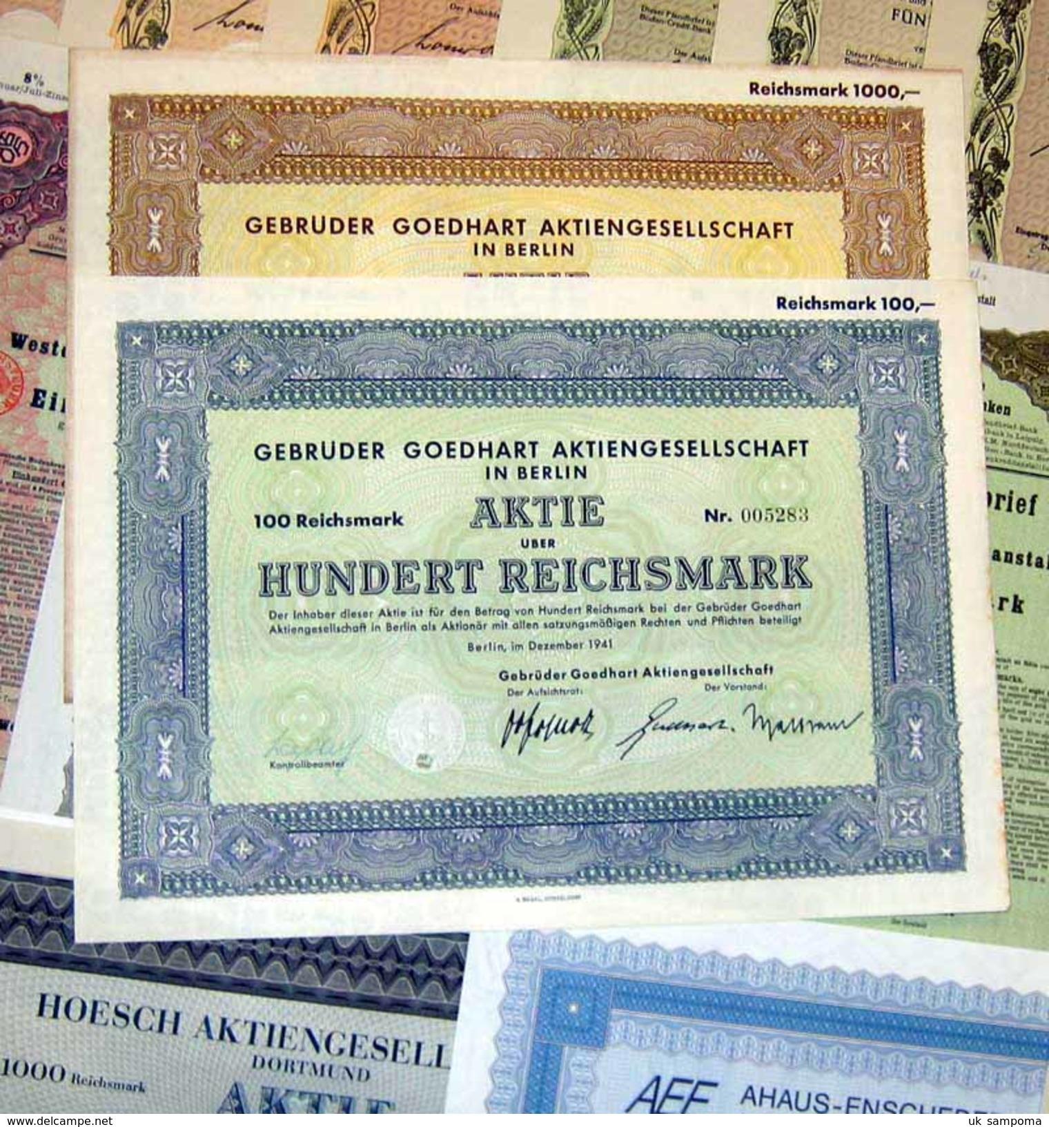 155 Versch. HWPs Aus Nordrhein-Westphalen 1926-96 Deko - Other