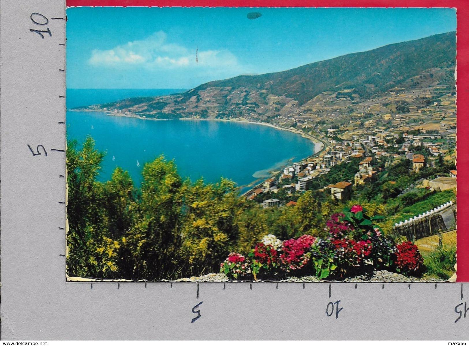 CARTOLINA VG ITALIA - OSPEDALETTI (IM) - Panorama Da Levante - 10 X 15 - ANN. 1970 - Imperia
