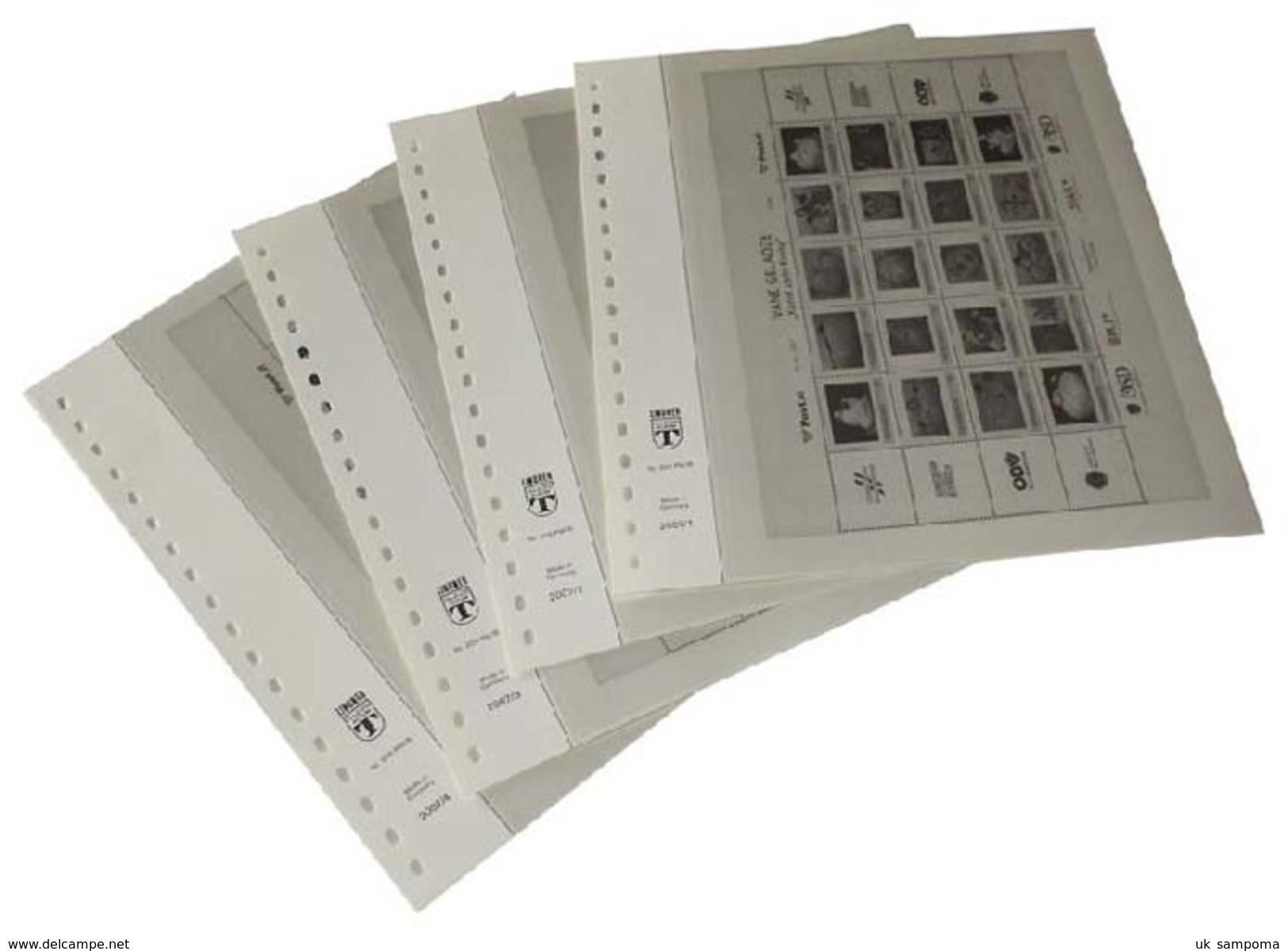 Lindner 209S Austria Complete Offer Austria - Illustrated Album Pages Year 1945-2014 - Albums & Binders