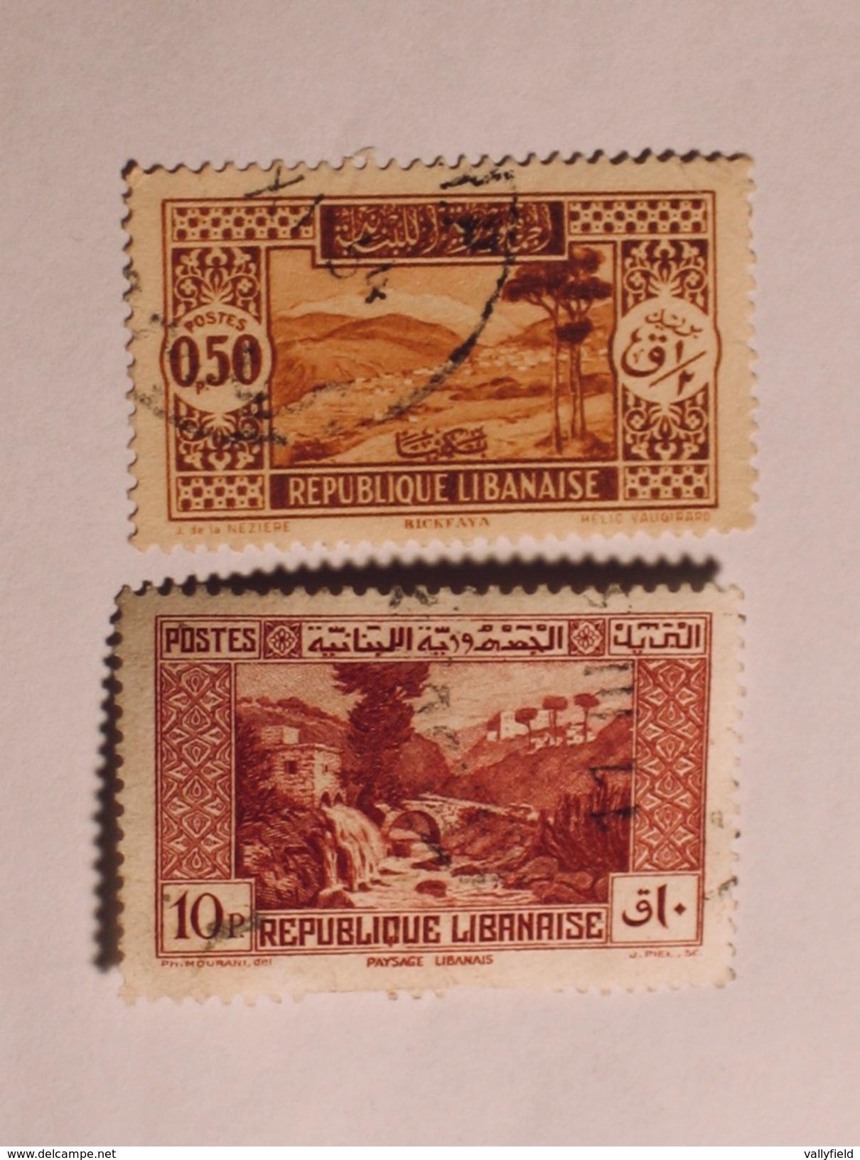 LIBAN  1930-35  Lot # 2 - Liban