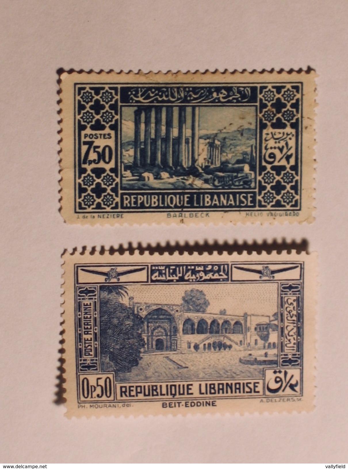 LIBAN  1930-35  Lot # 3 - Liban
