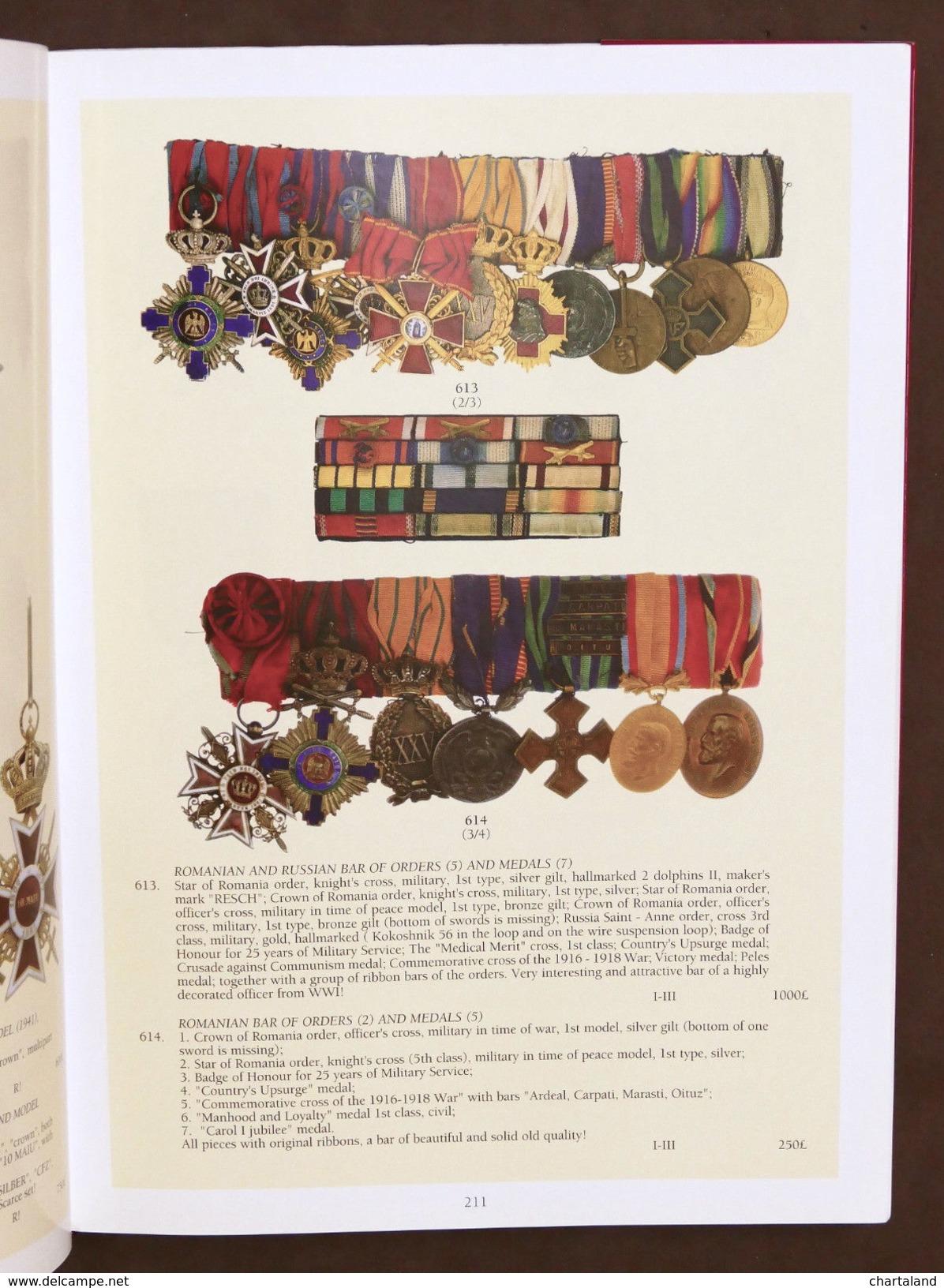 Catalogo Asta Decorazioni Medaglie - La Galerie Numismatique Auction VI - 2005 - Livres & Logiciels