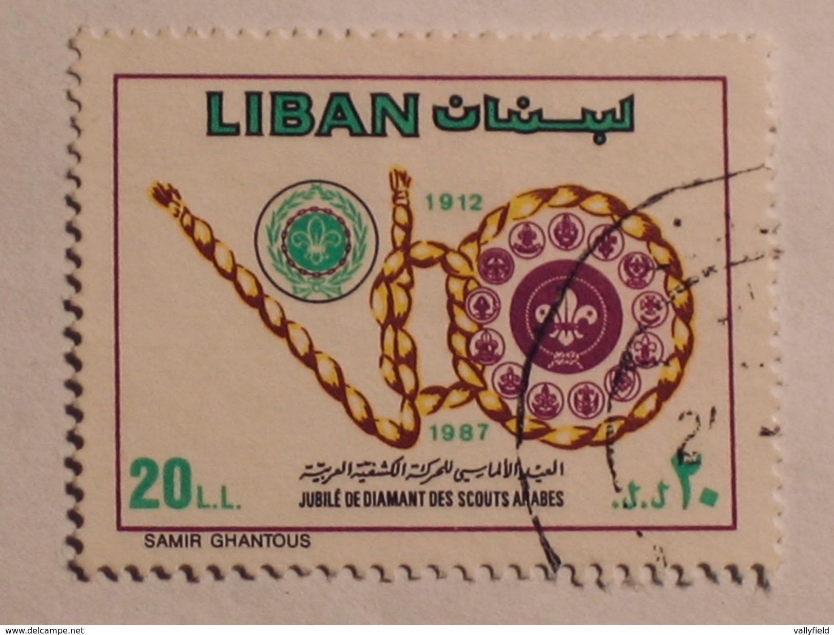 LIBAN  1988  Lot # 7  SCOUT - Liban